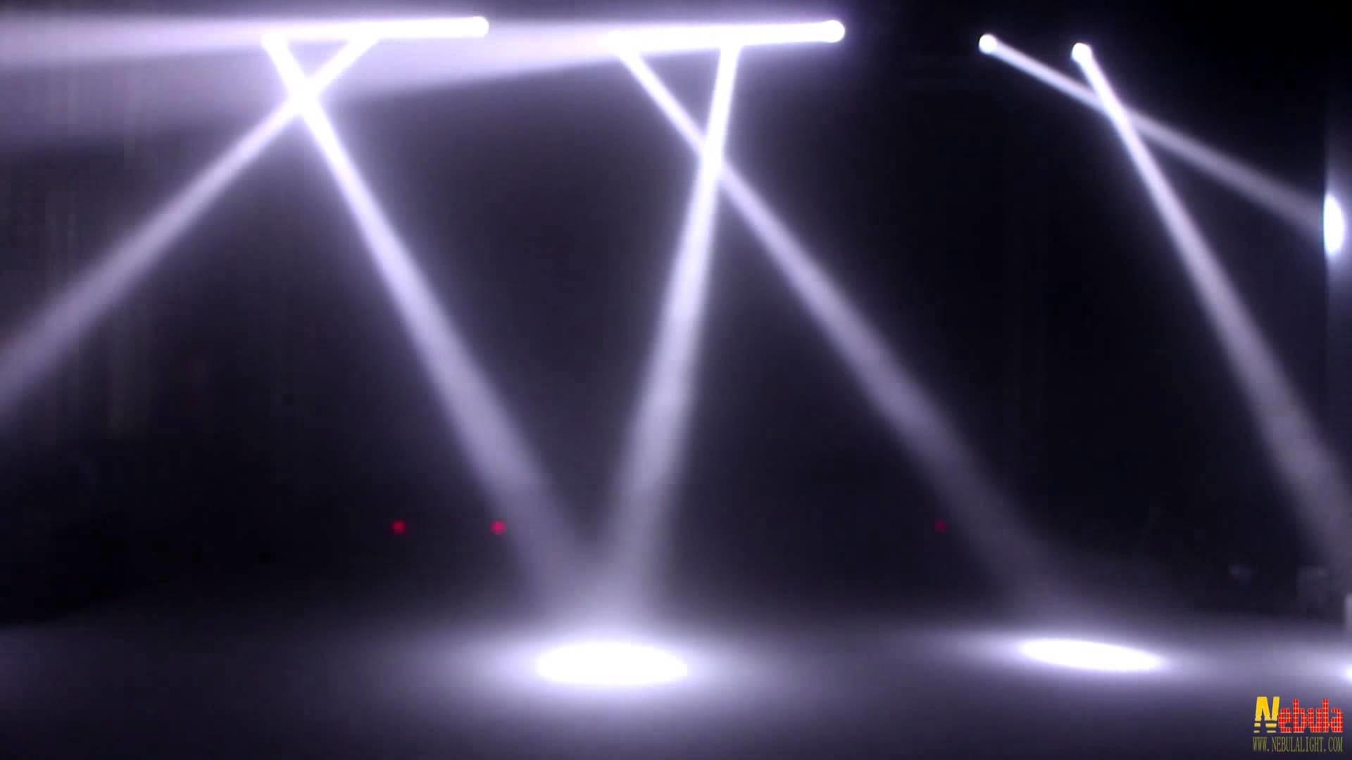 Nebula 60W Mini LED Beam/LED Lyre Stage Light