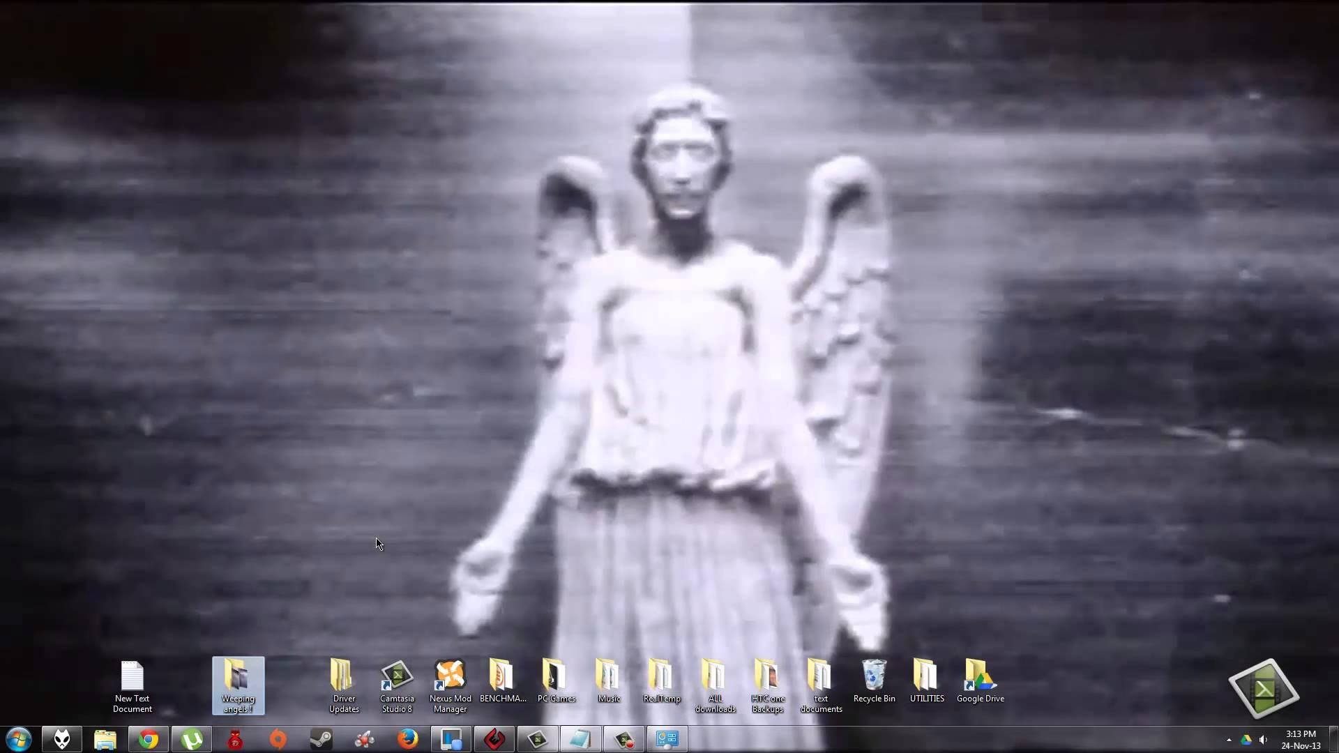 How to Make a Weeping Angels Animated wallpaper – YouTube