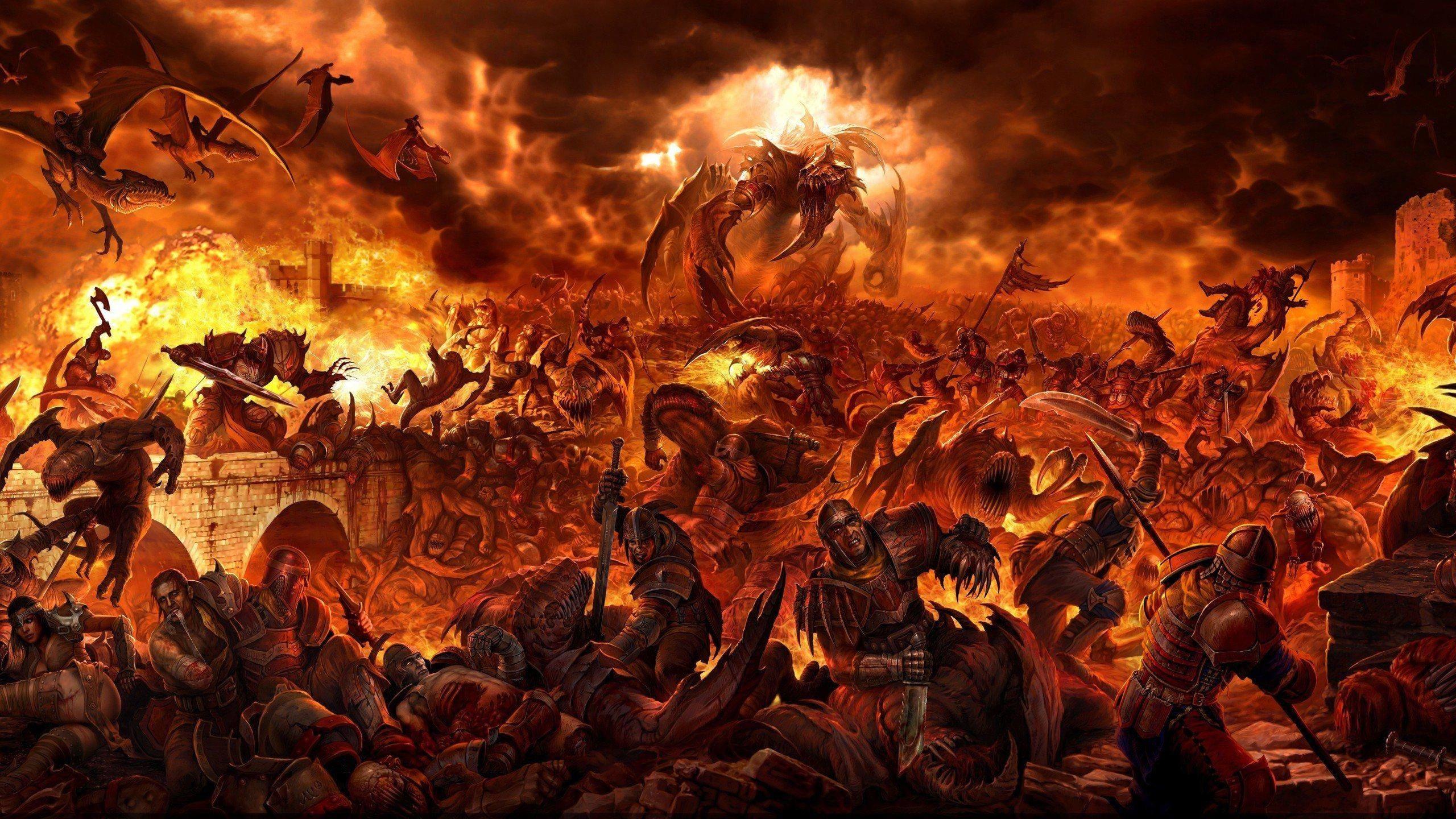 HD Imaginary hell Wallpaper Free