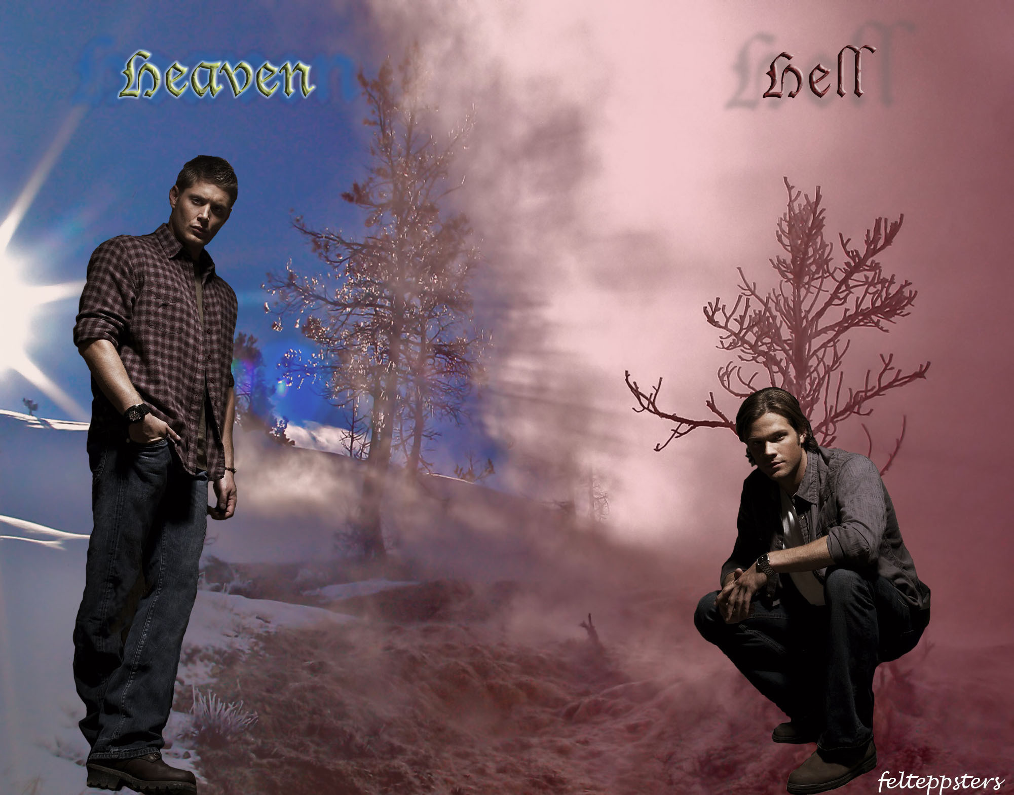 Supernatural images Heaven and Hell HD wallpaper and background photos .