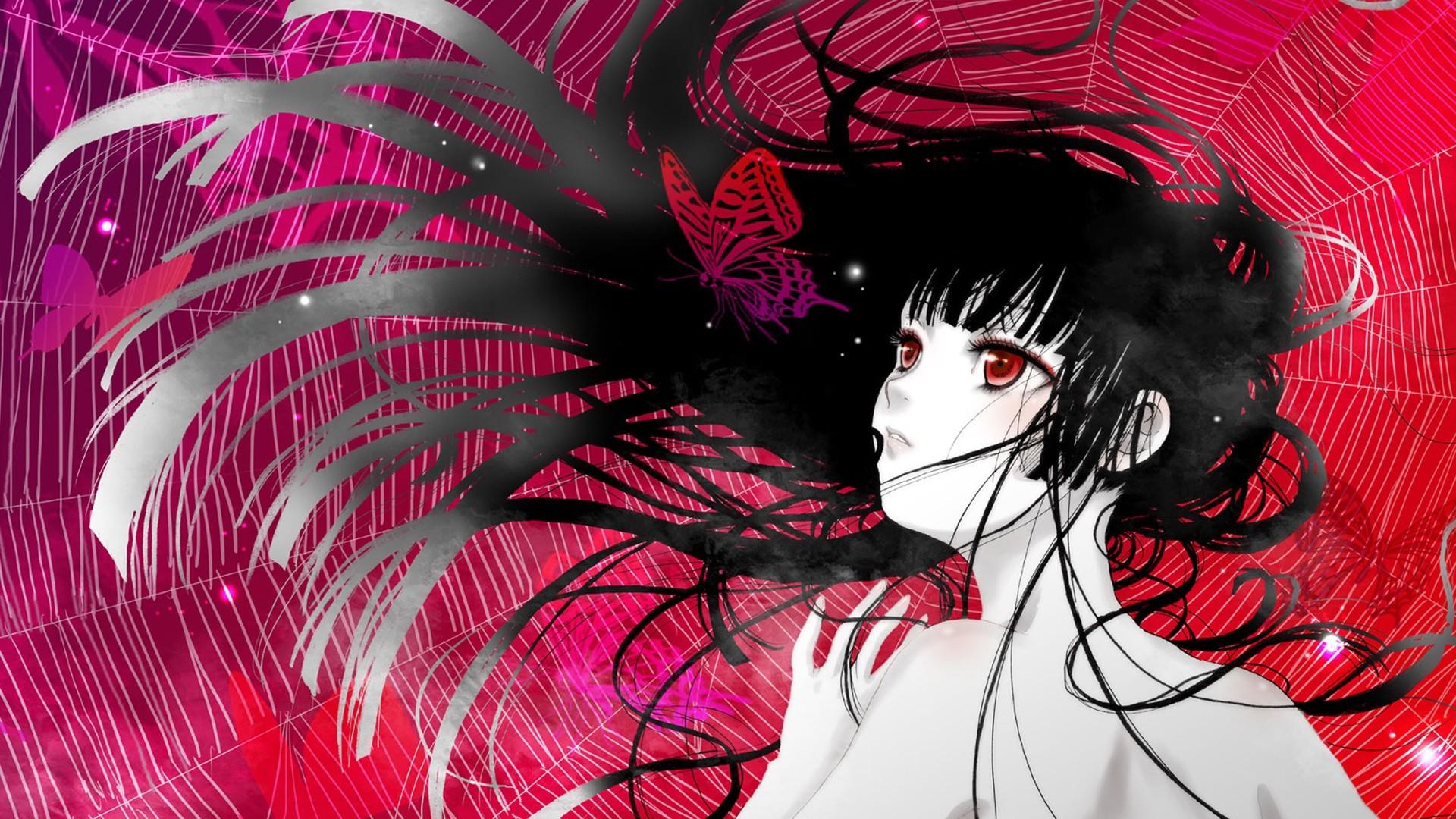 Jigoku Shoujo Wallpaper by kidou · Hell GirlHd …