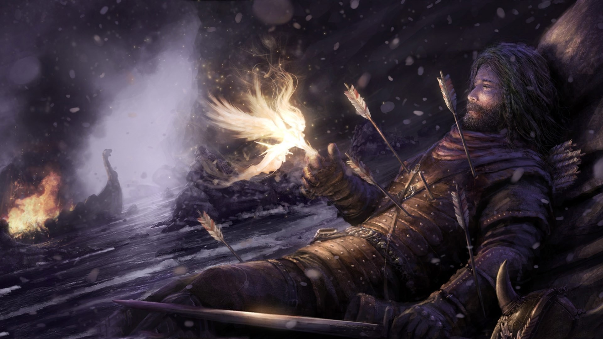 Fairy-With-Dying-Warrior-Wallpaper-1920×1080