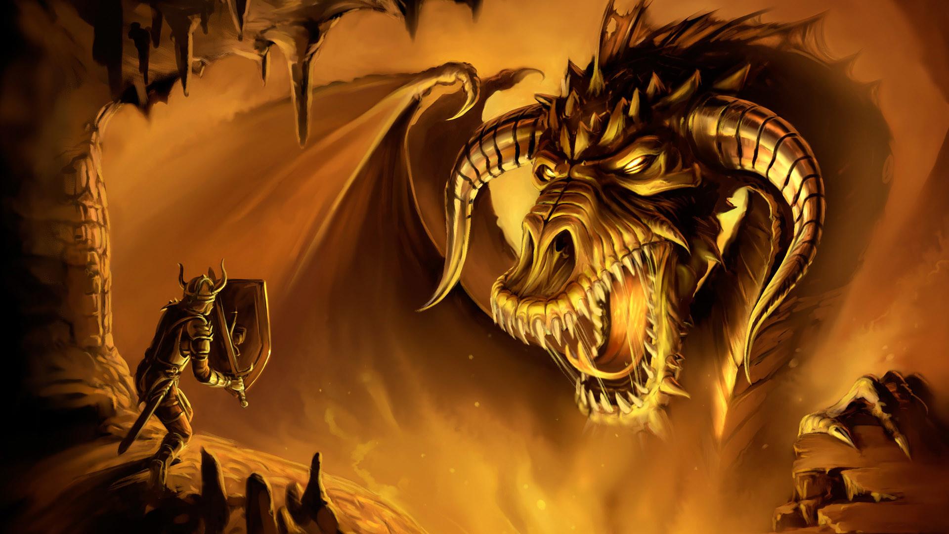 Fire Monster 2 Wallpaper