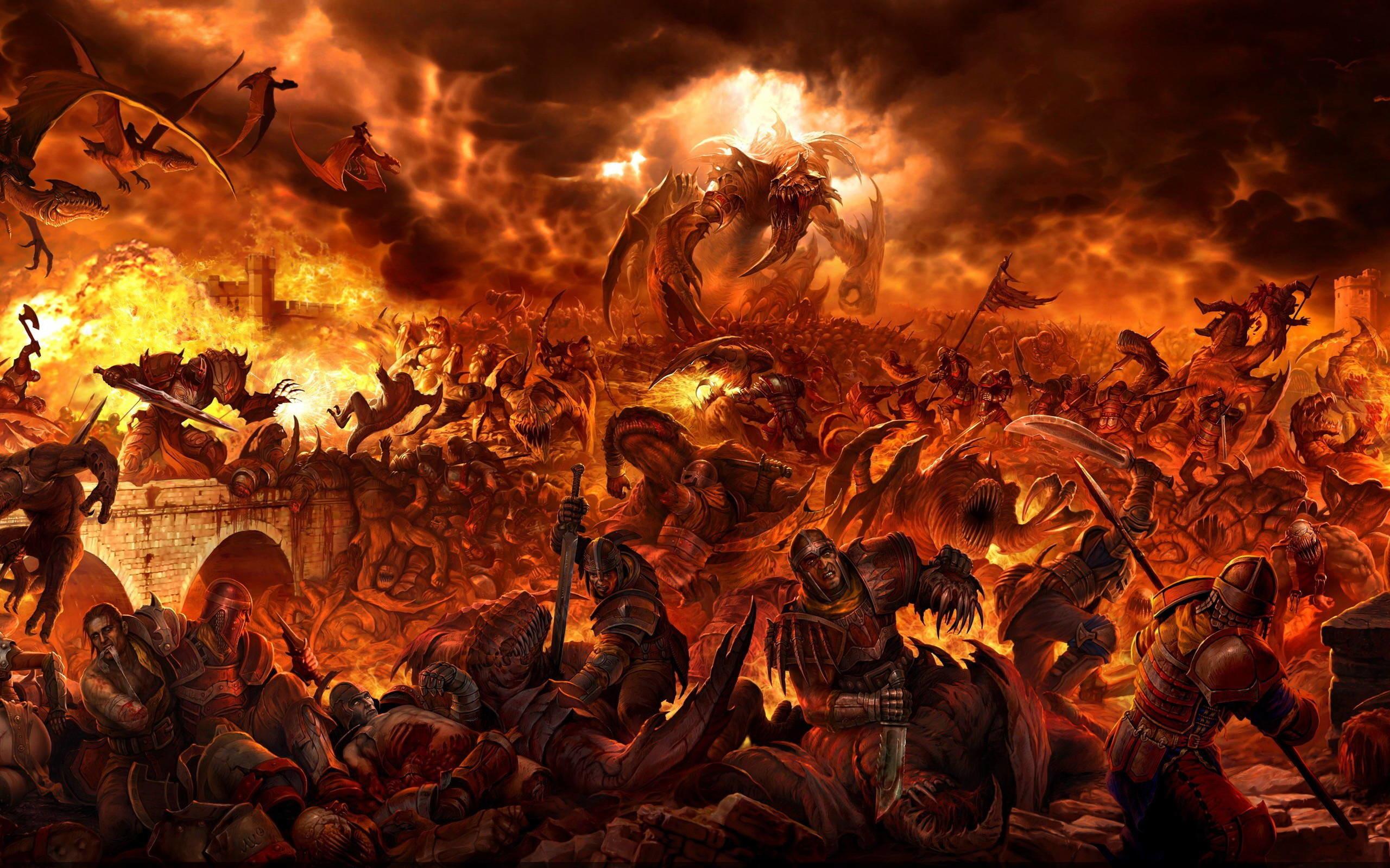 Fantasy Battlefields Wallpaper/Art Collection (Part 1)