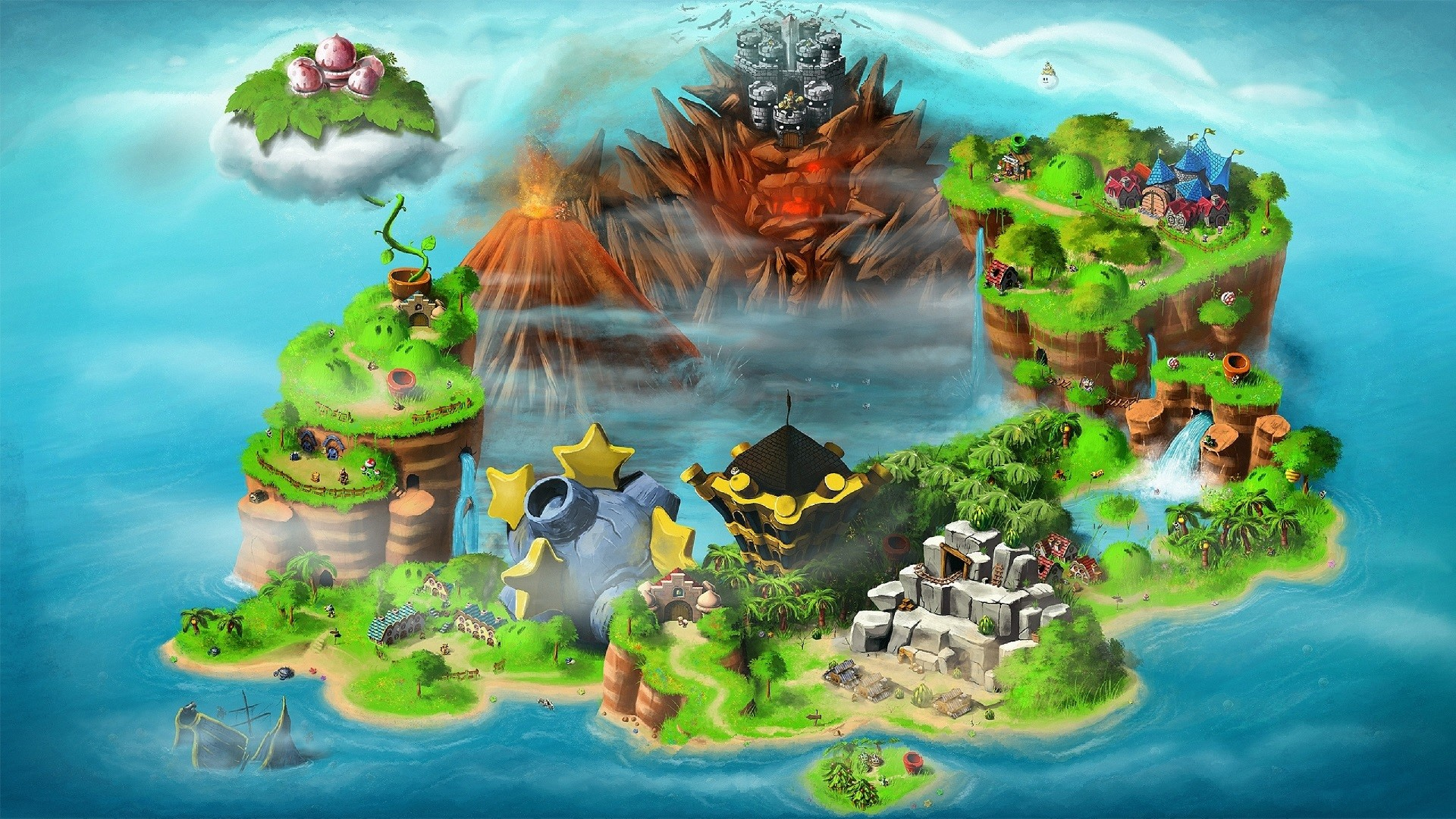 6 Super Mario Rpg: Legend Of The Seven Stars HD Wallpapers | Backgrounds –  Wallpaper Abyss