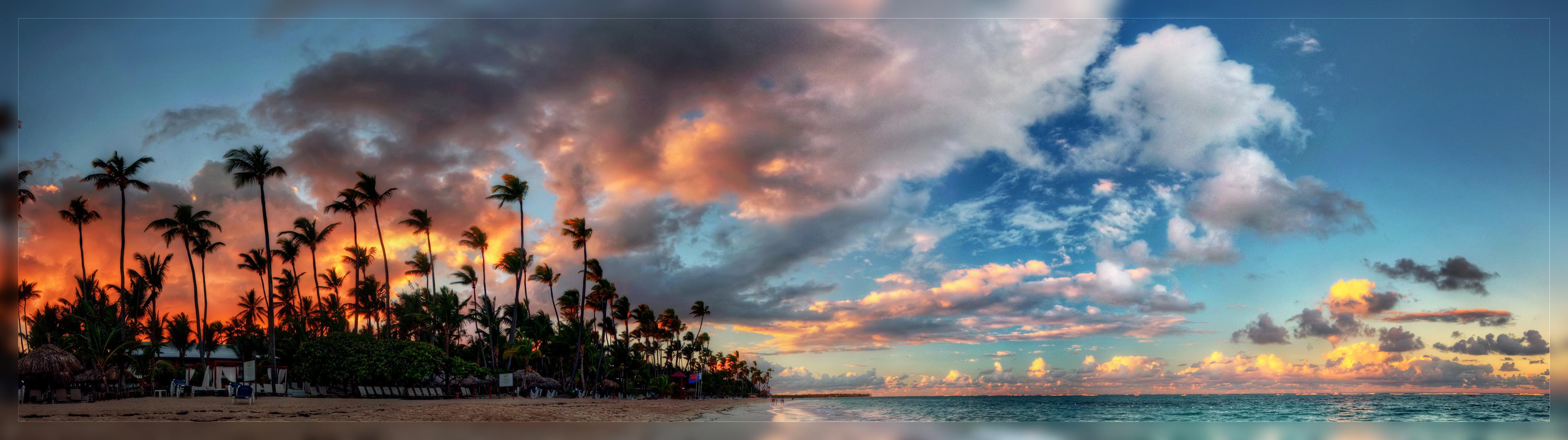 Dual Monitor Wallpaper Beach 2560×1024 – High Definition .