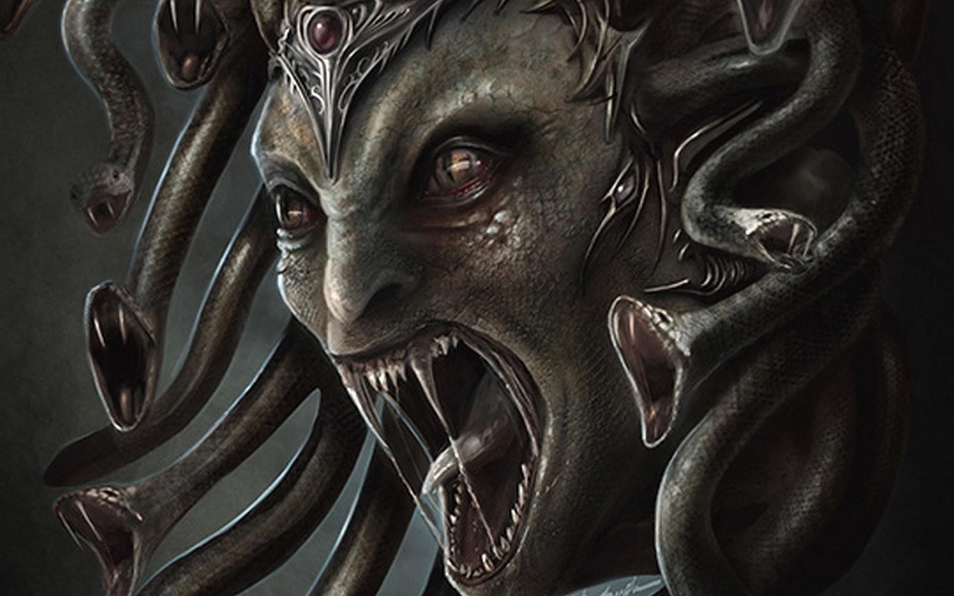 MEDUSA monster .