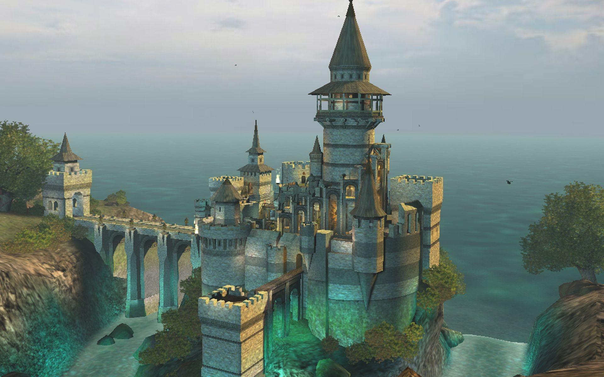 castle wallpaper 6
