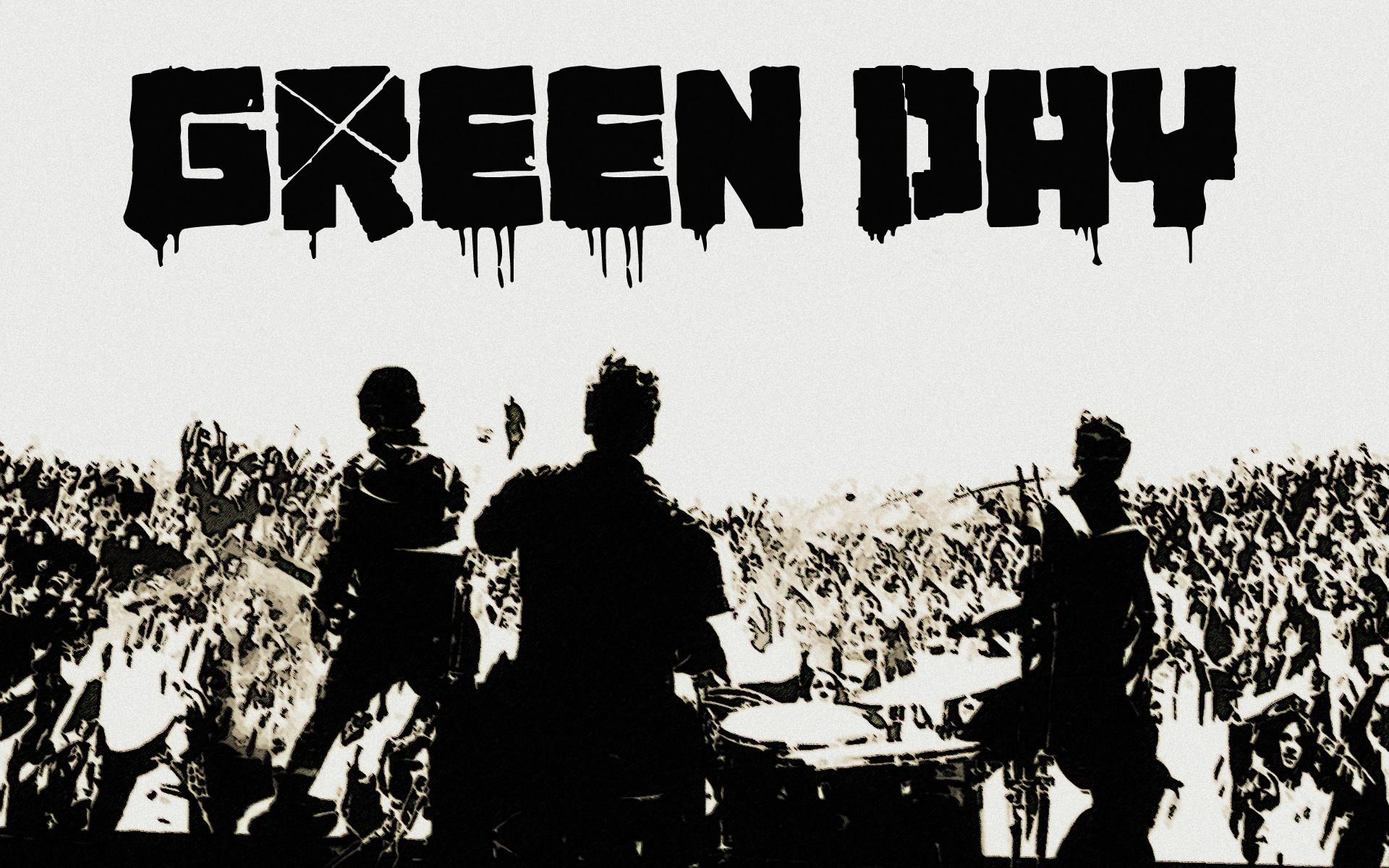 Green Day Logo Wallpaper