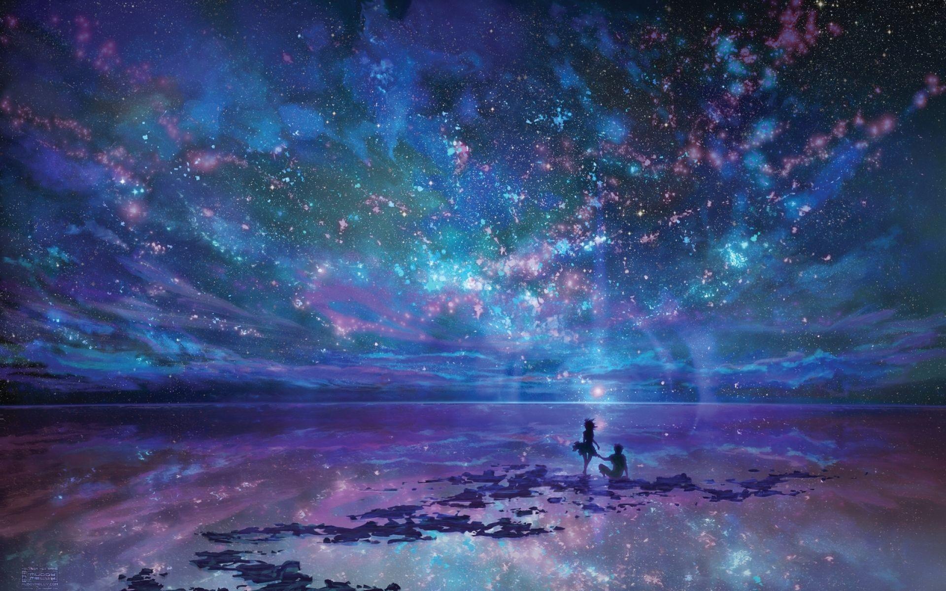 Night Ocean Wallpaper