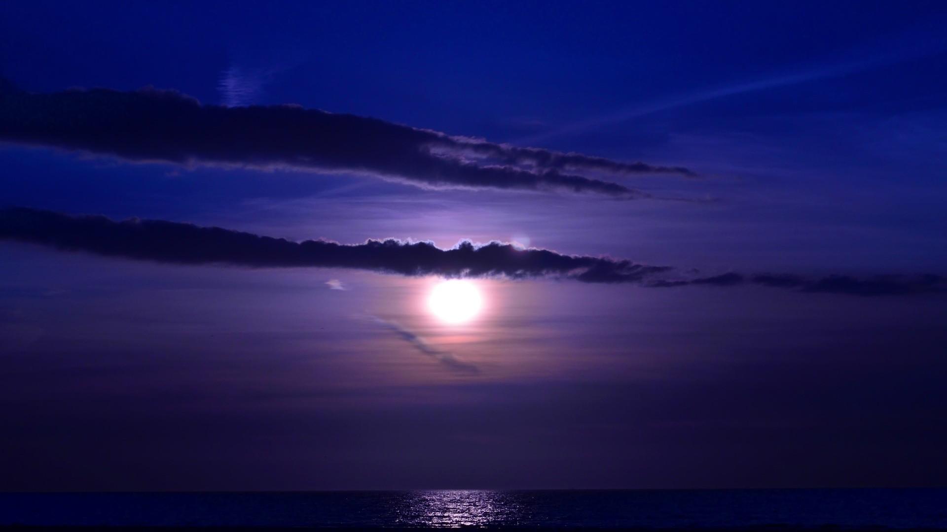 Amazing Ocean & Night & Nature HD Wallpaper HD