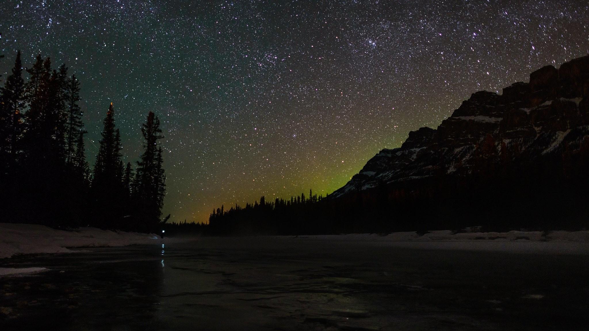 Alaska Night Wallpaper 1080p