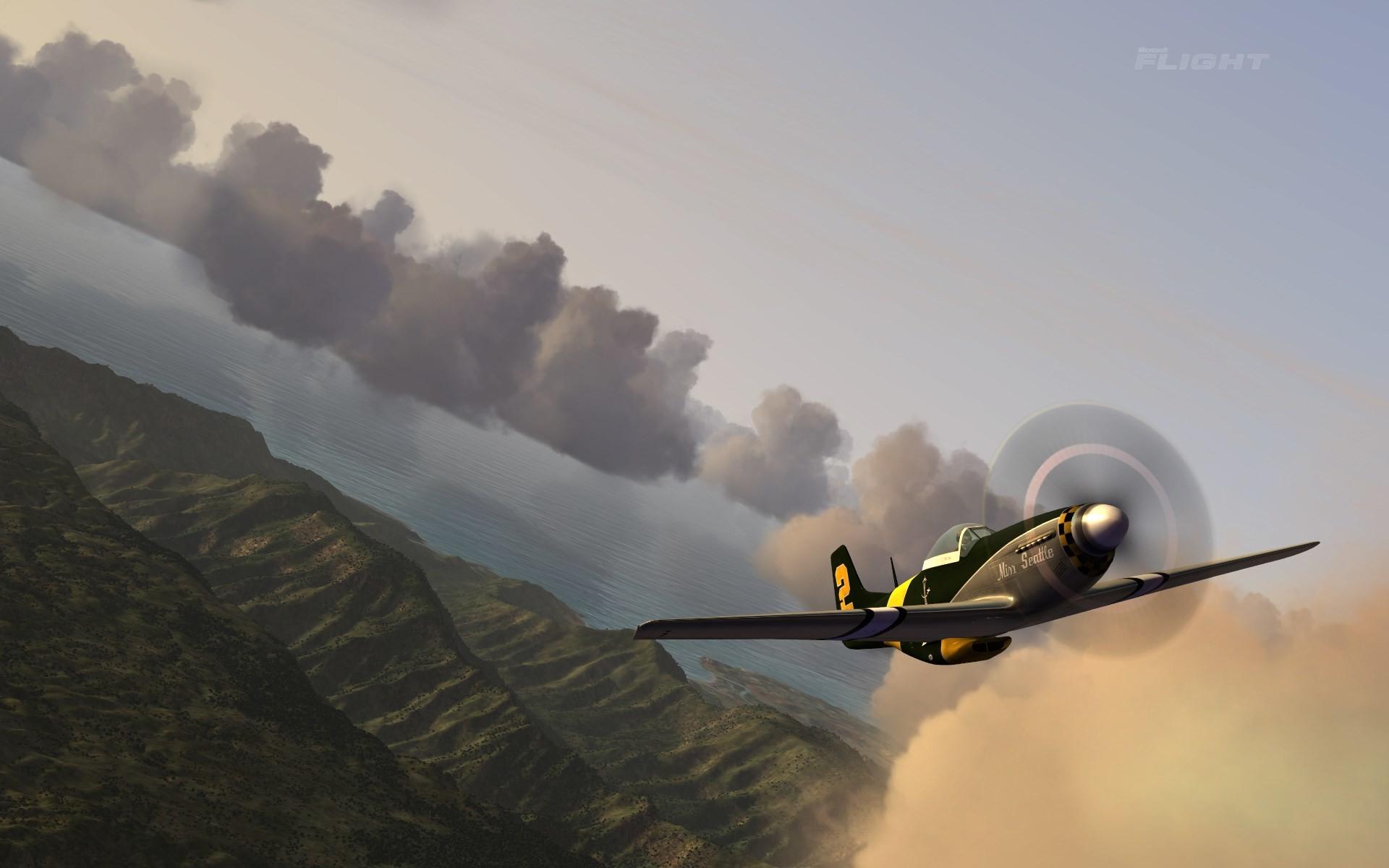 free desktop wallpaper downloads microsoft flight hawaii