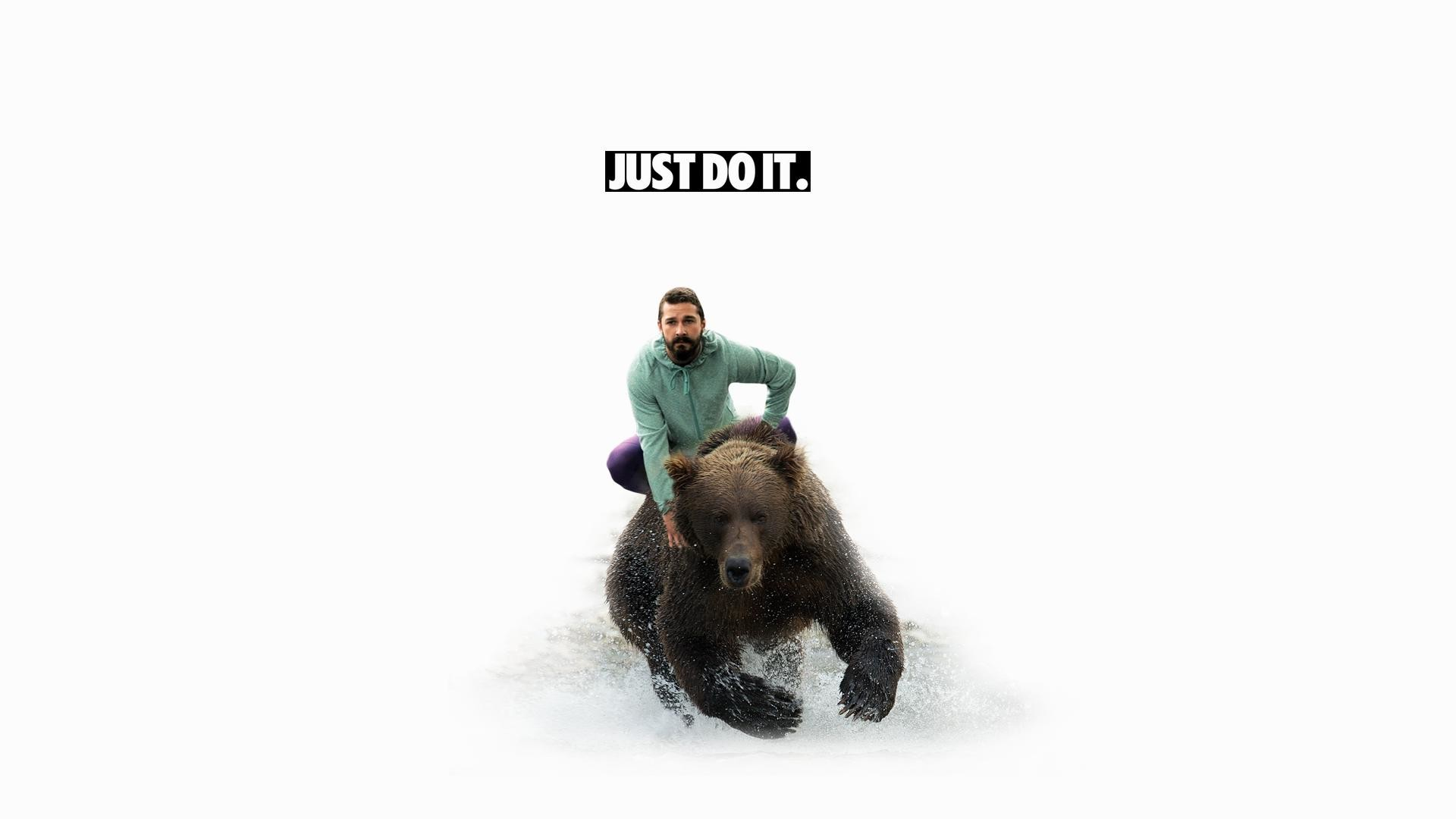 wallpaper.wiki-Shia-labeouf-white-bear-grizzly-bear-just-do-it -images-PIC-WPE0010487