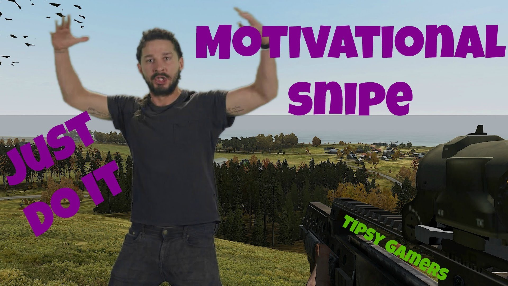 Arma 2 Overpoch – Shia Labeouf Motivational Snipe – Just Do It! – YouTube