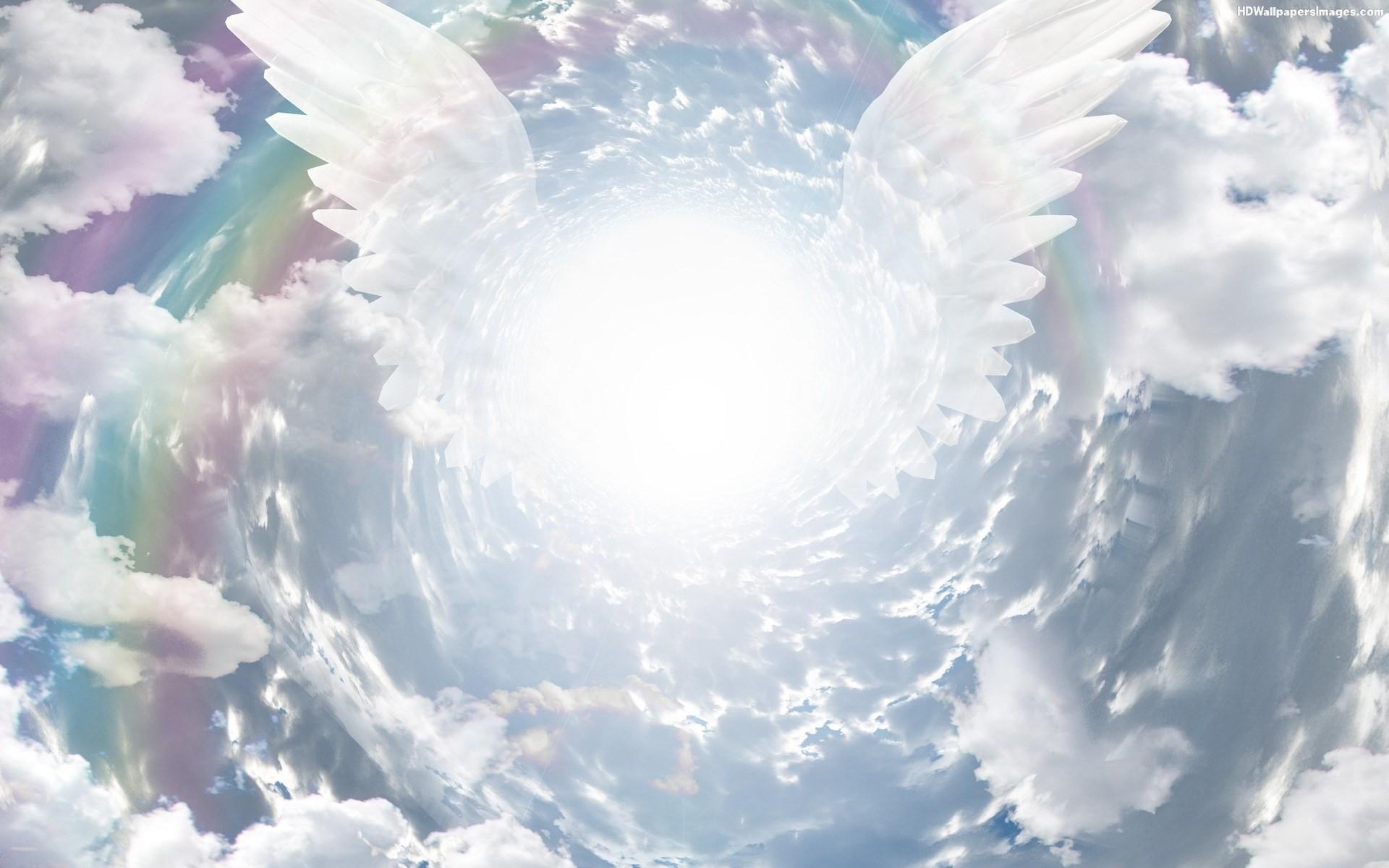 angel free screensaver wallpapers