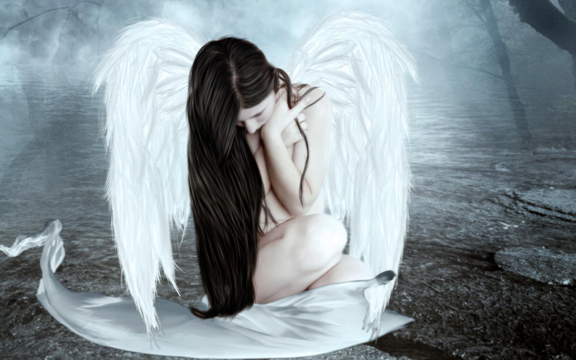 Sad crying angel missing you HD wallpaper | HD Wallpapers Rocks