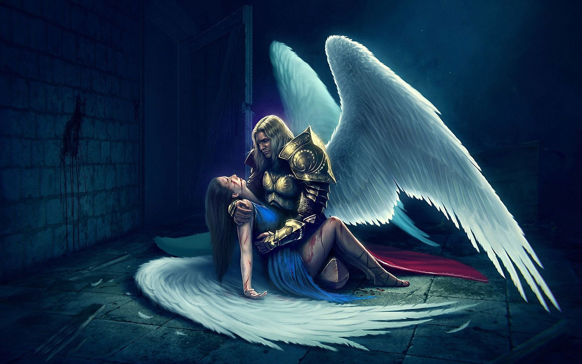view image. Found on: angels-screensavers-and-wallpaper/