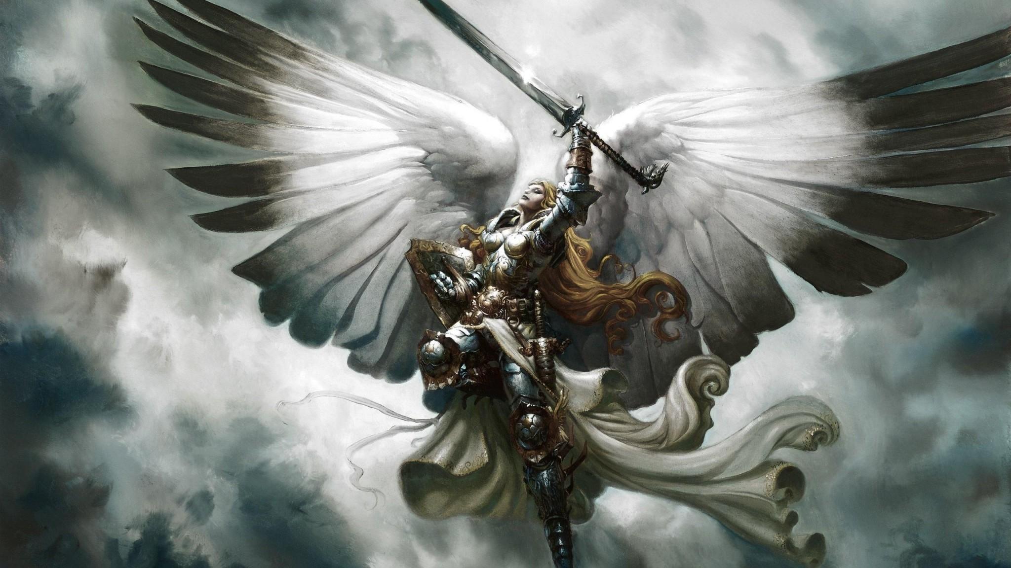 angel wallpaper free desktop wallpapers