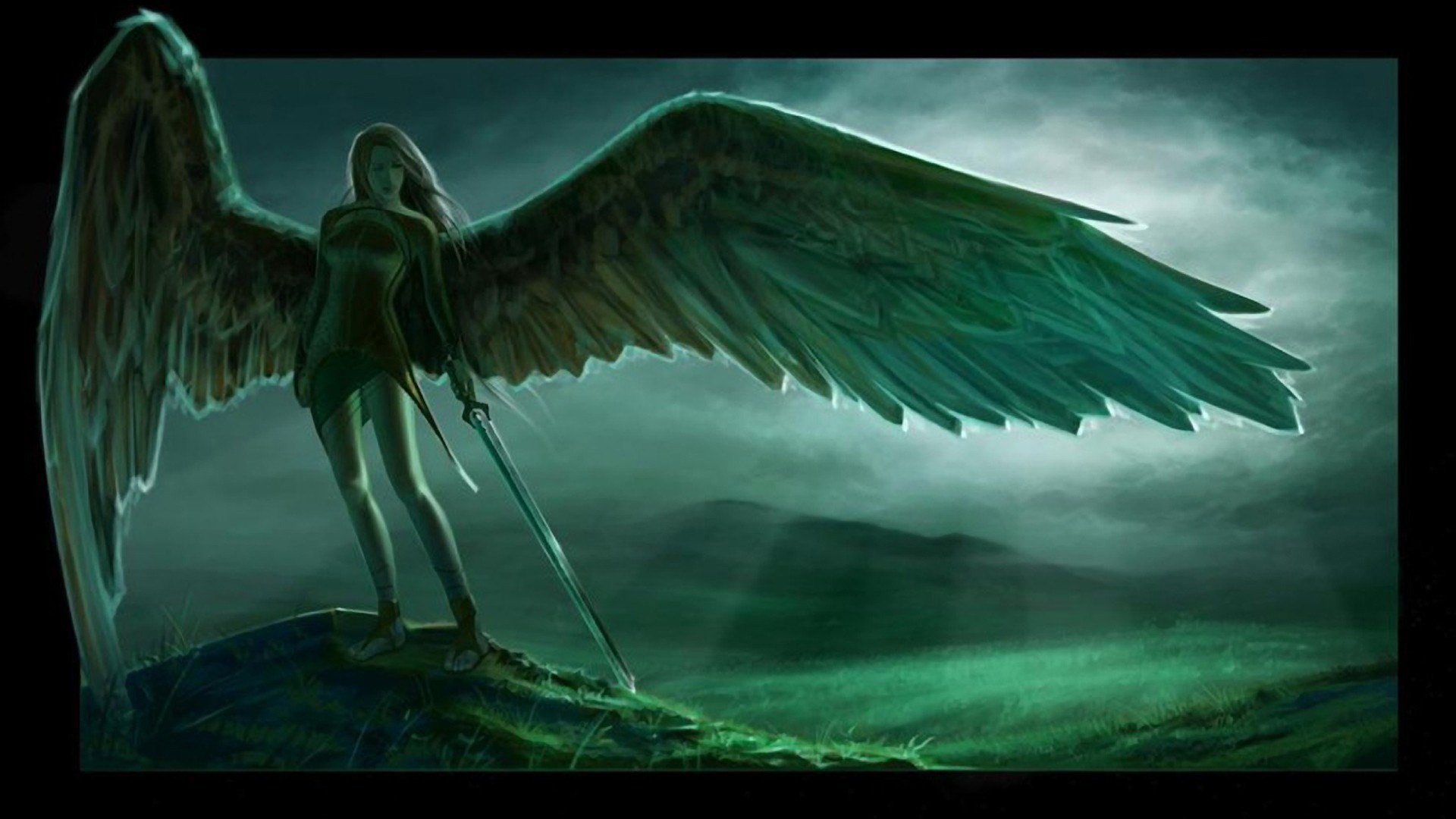 free wallpaper and screensavers for angel warrior