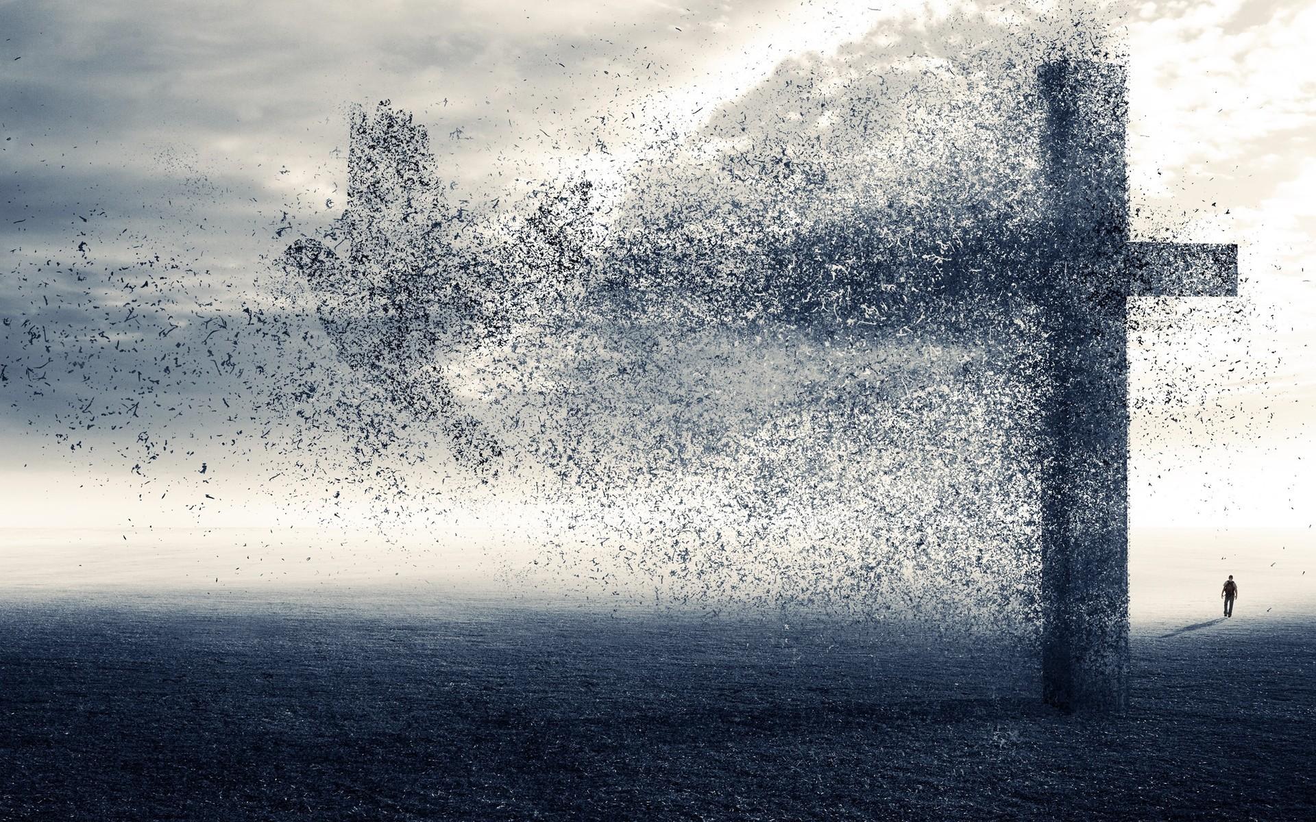 Dark Cross Wallpaper Widescreen