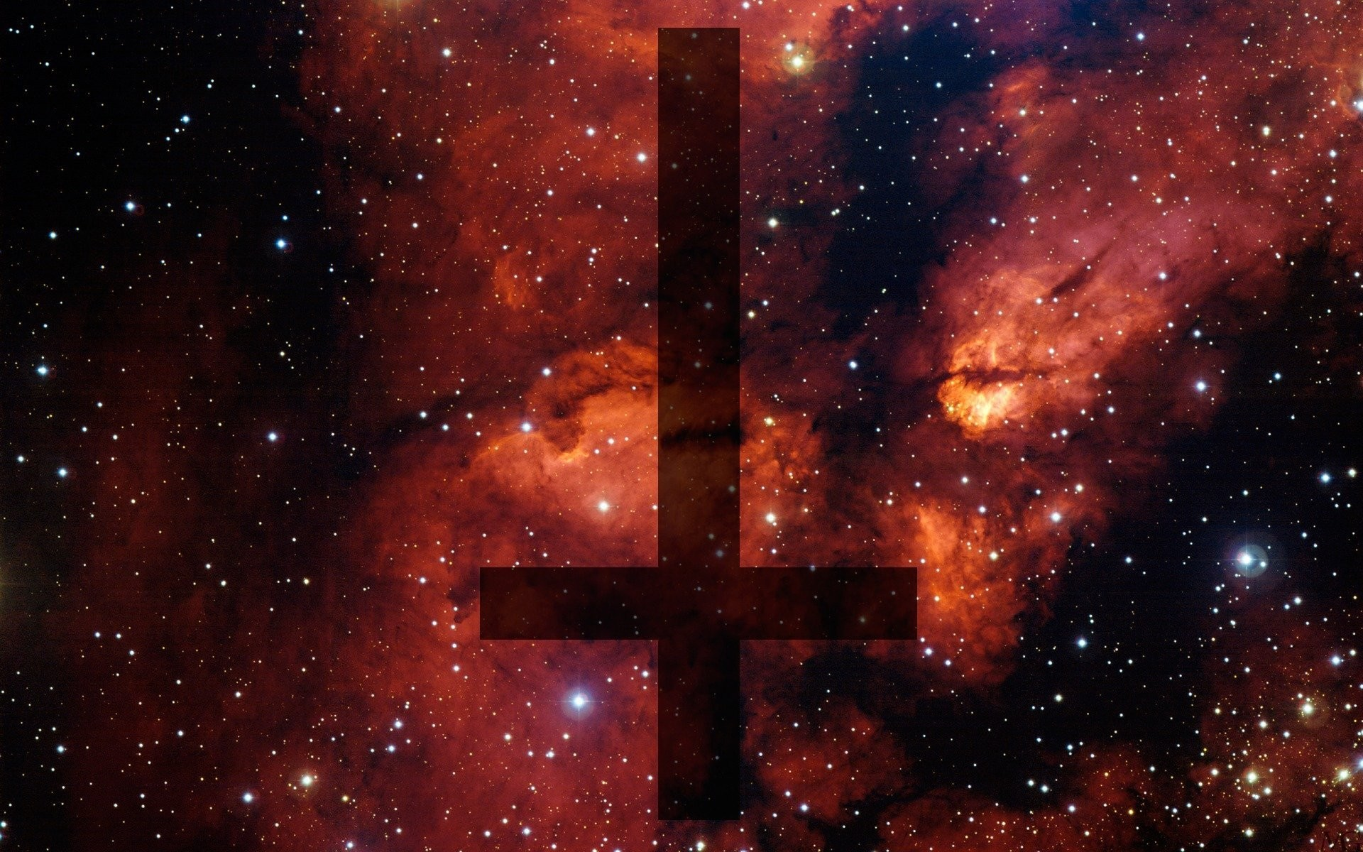 space cross inverted