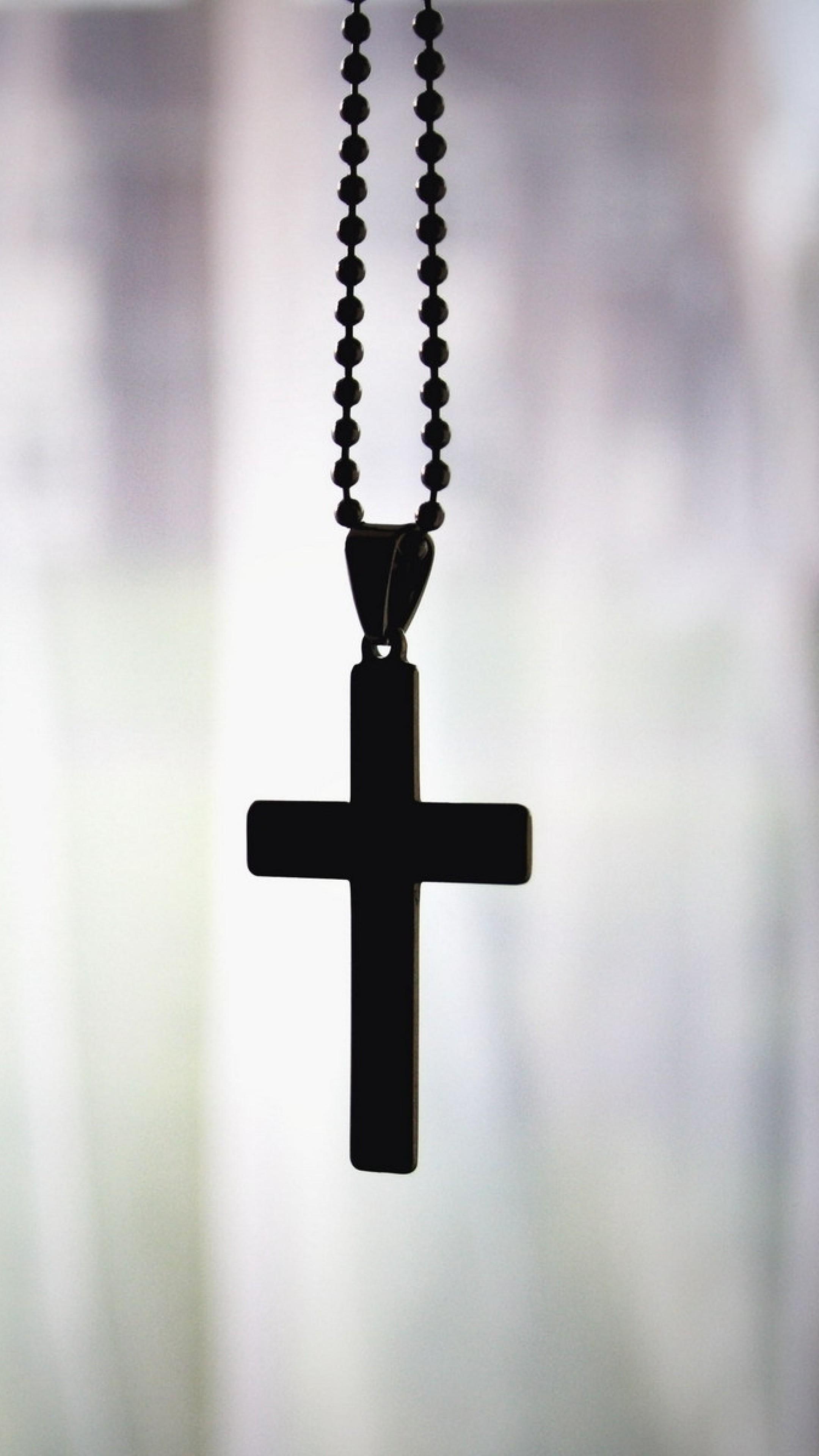 Wallpaper cross, pendant, chain, faith, christianity, orthodoxy