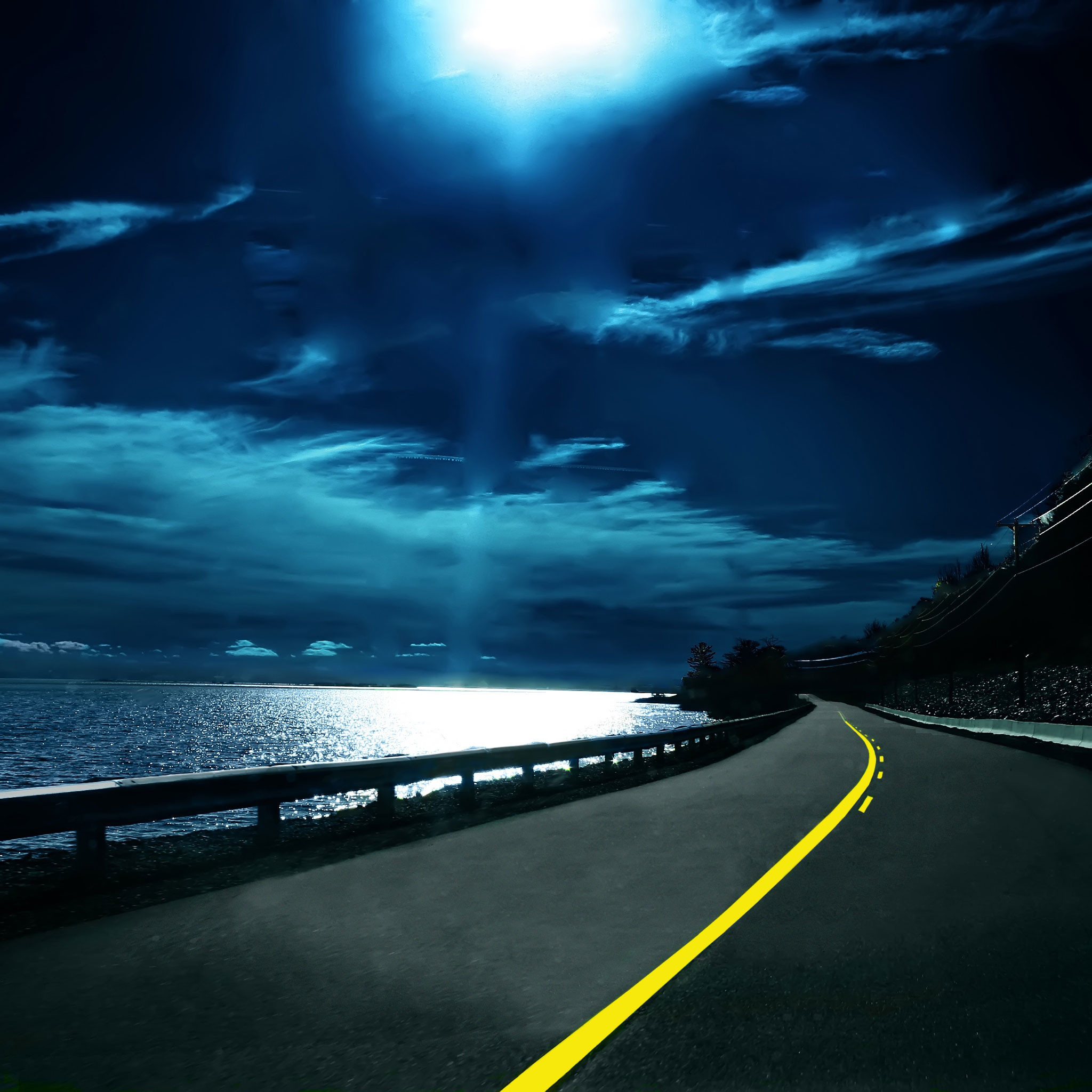 Wallpaper Weekends: Life is a Highway for the iPad