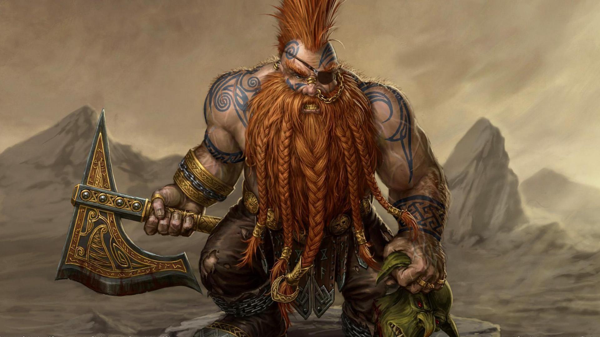 Viking Warrior Tattoos