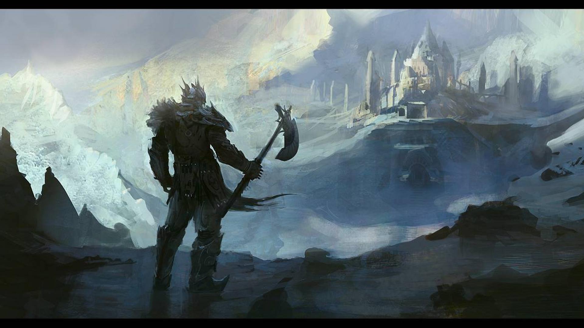 Viking wallpaper Fantasy wallpapers