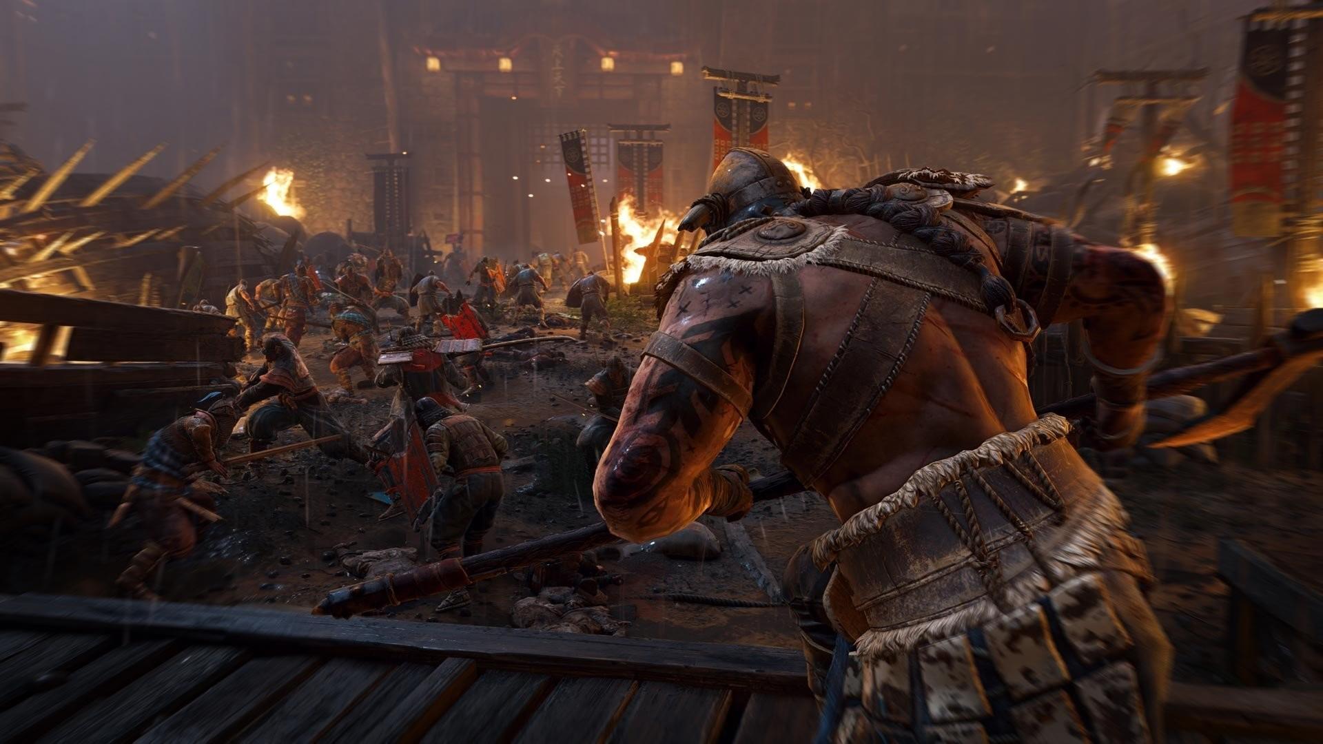 Axe Battle Samurai Viking Warrior · HD Wallpaper   Background ID:713533