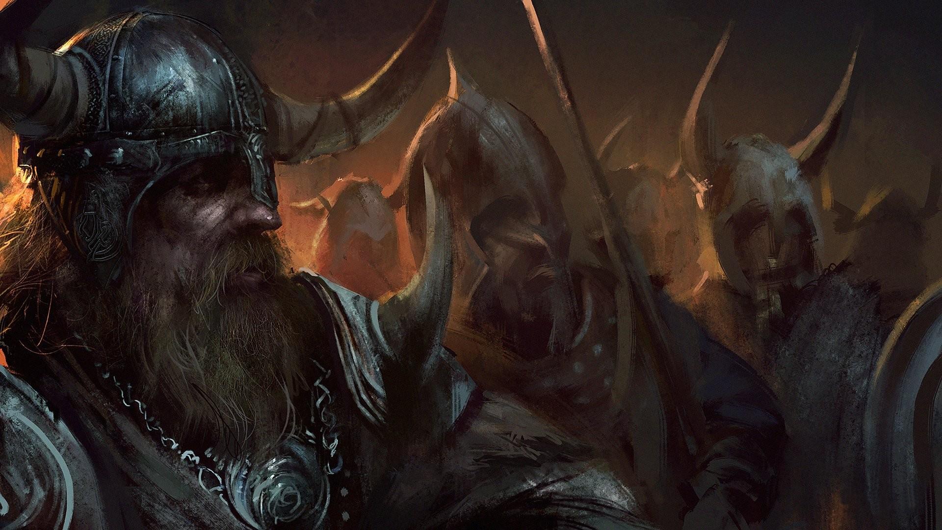 viking helmet shield sword horn beard warrior viking