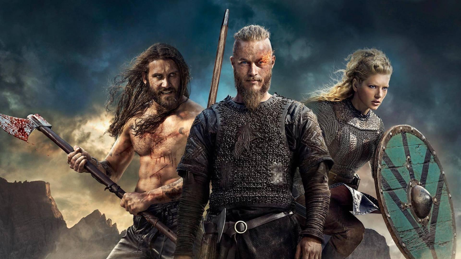 Clive Standen (Rollo) – Vikings (2014) – Metek Artwork (2016)   Wallpaper:  Top Quality Image   Pinterest