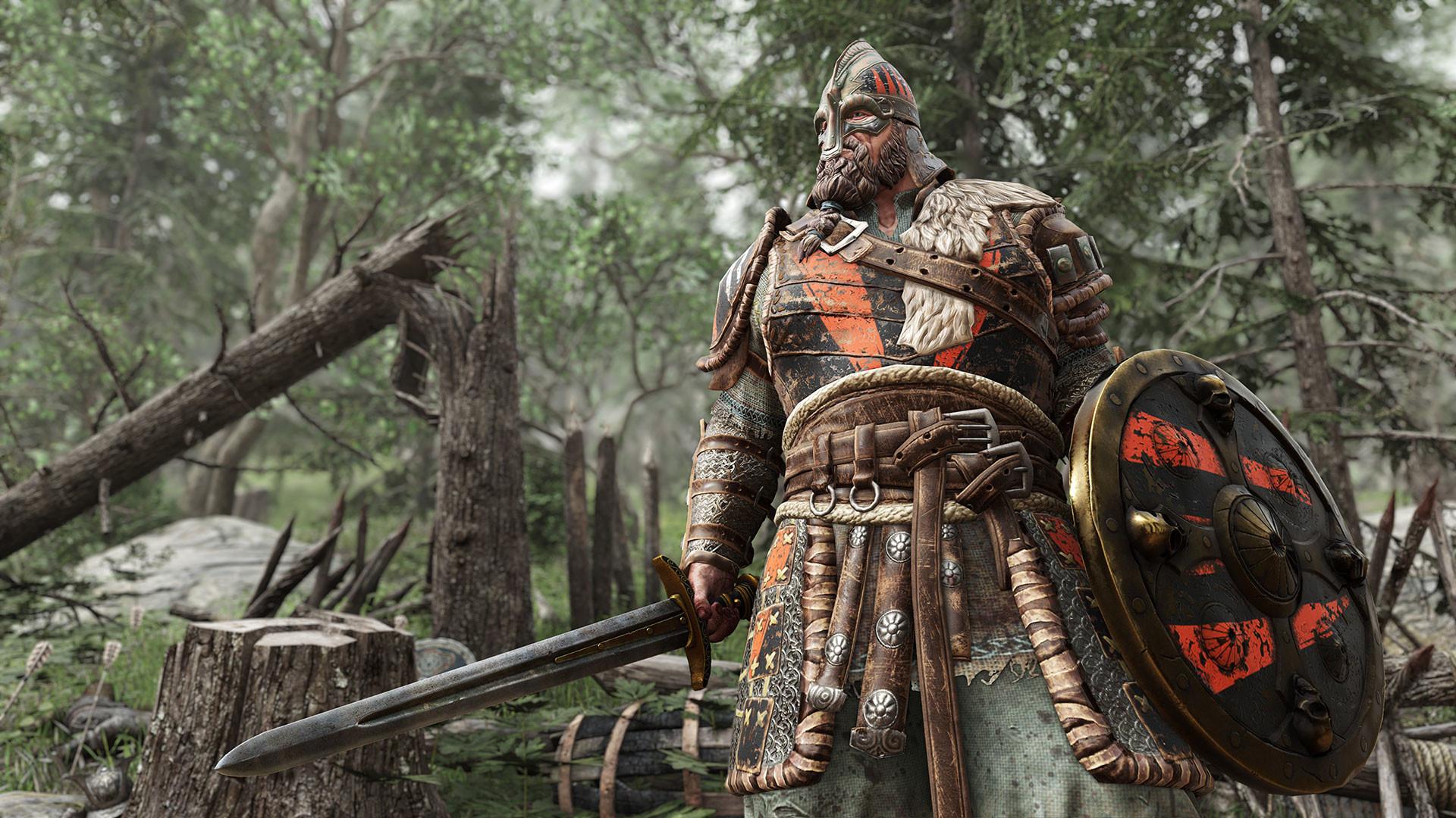 Video Game – For Honor Warrior Viking Sword Shield Wallpaper
