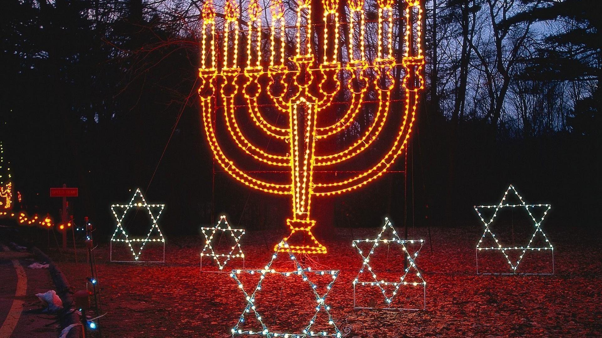 Israel jewish bright candles stars wallpaper   (83749)