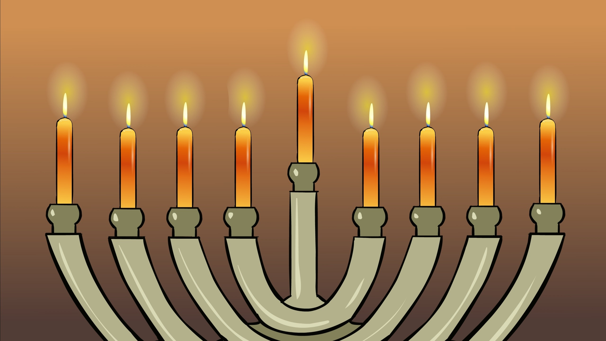 Preview wallpaper hanukkah, jewish holiday, 2014, consecration 2560×1440
