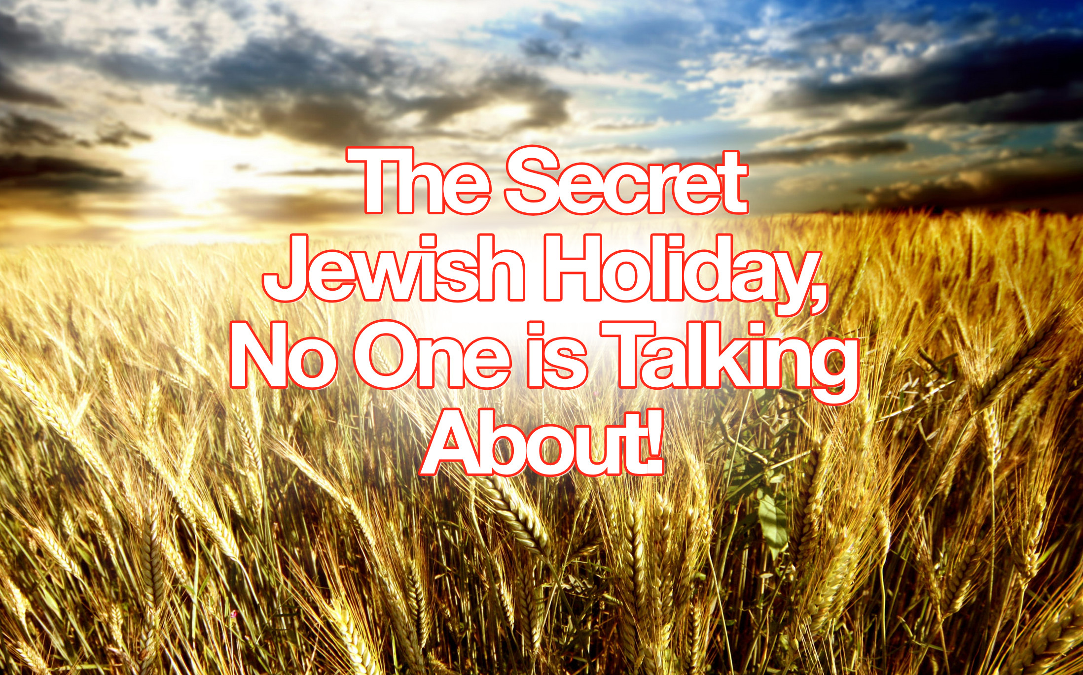 Yeshua Rose from the Dead on a Jewish Holiday and No One is Talking About  It!