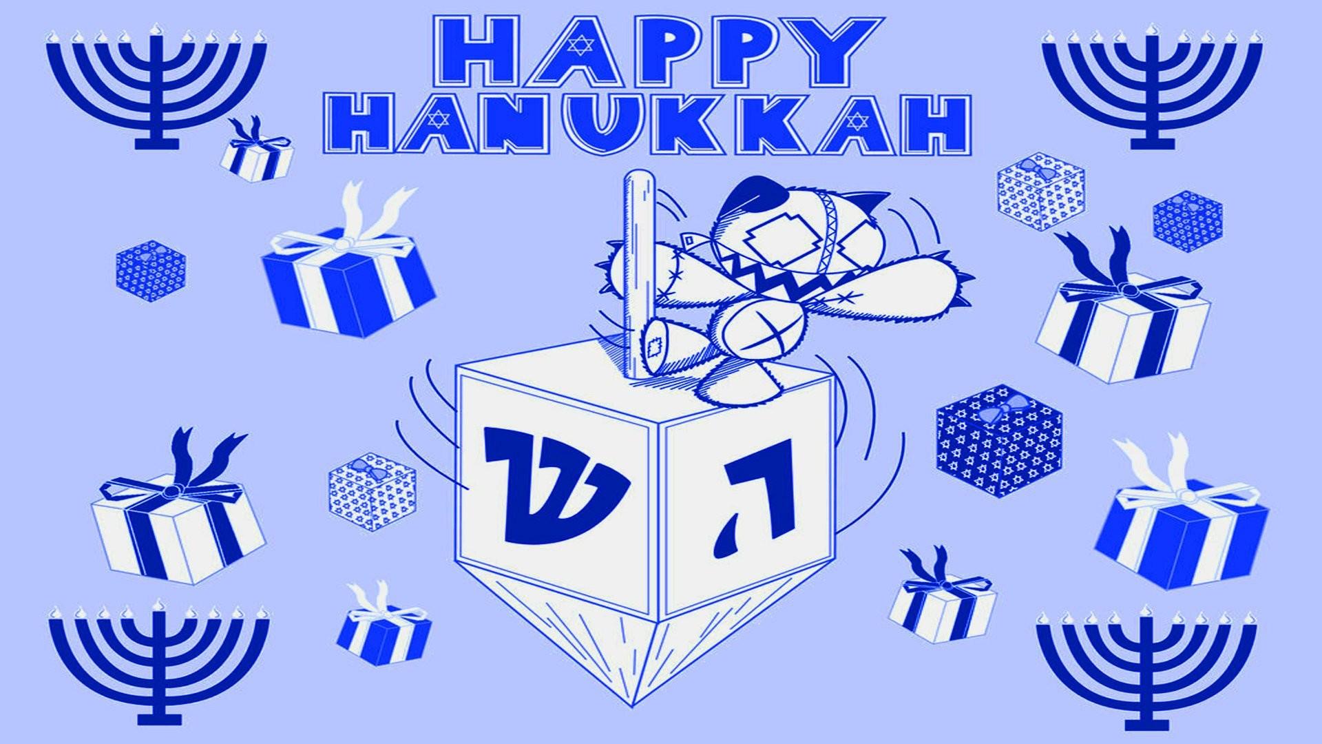 HANUKKAH jewish festival holiday candelabrum candle menorah hanukiah  Chanukah wallpaper     555263   WallpaperUP