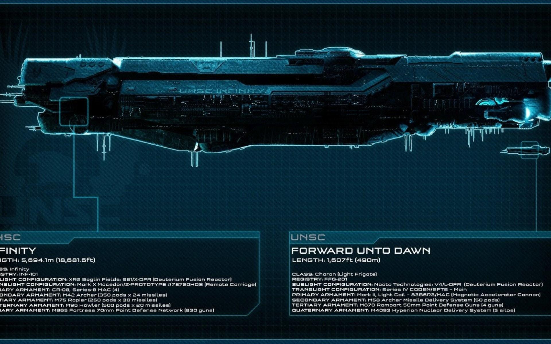 Unsc Infinity · unsc frigate
