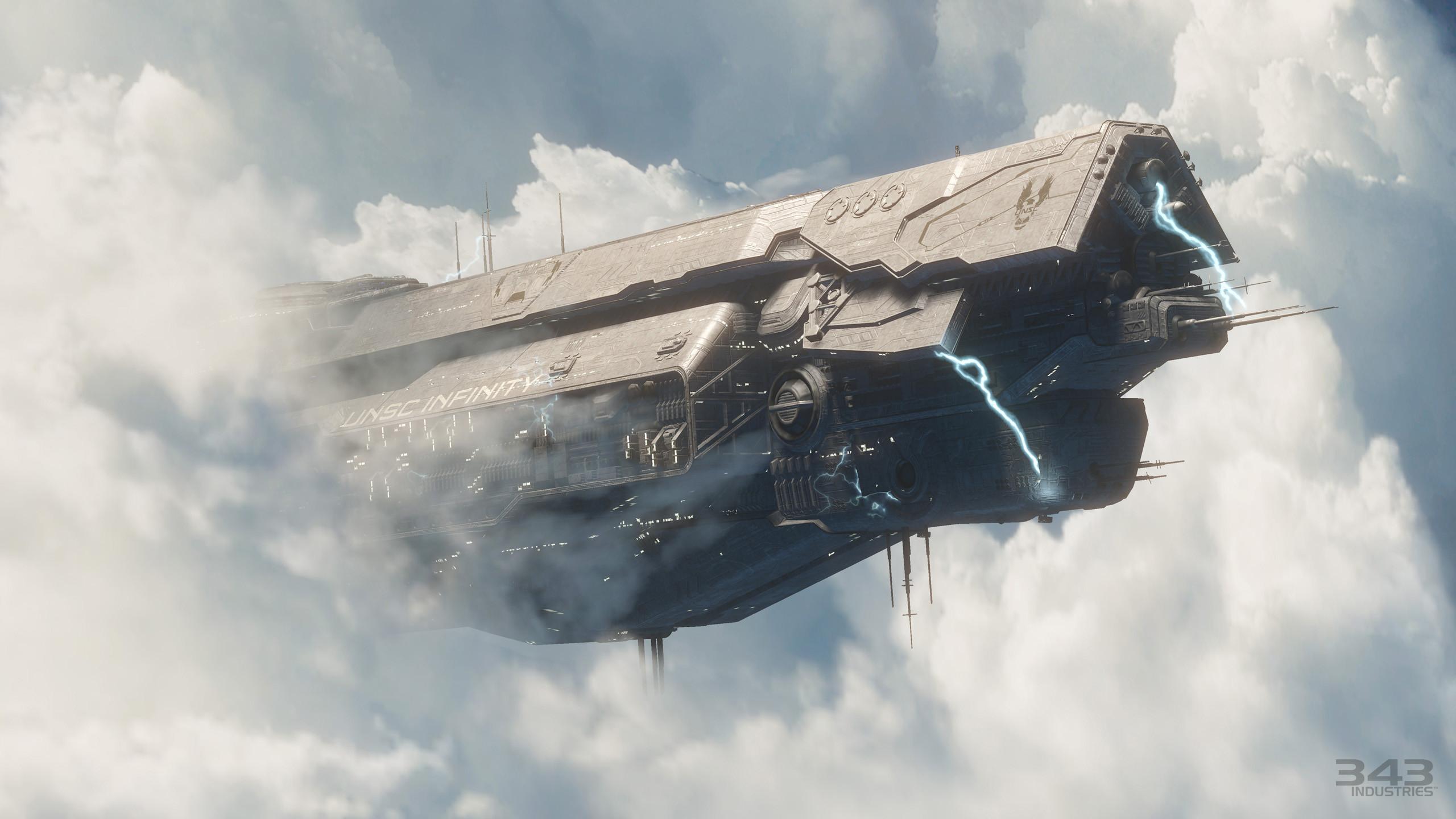 Video Game – Halo Sci Fi Ship Master Chief Halo 4 Wallpaper