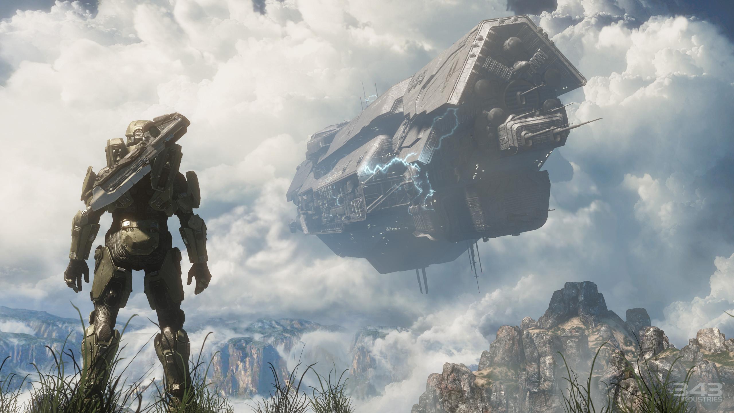 Video Game – Halo Halo 4 Master Chief Ship Sci Fi Wallpaper