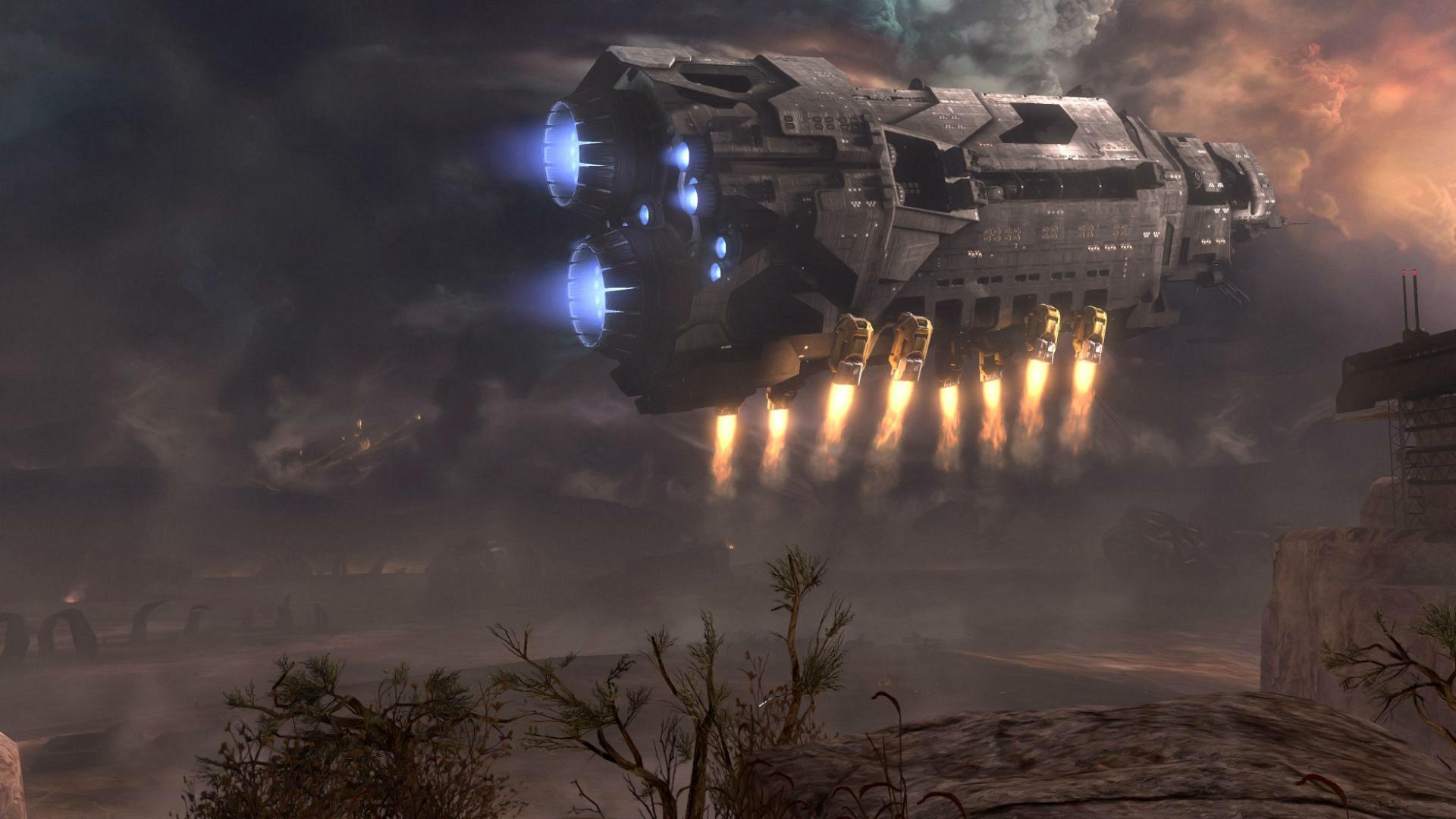 Video Game – Halo UNSC Pillar of Autumn Wallpaper
