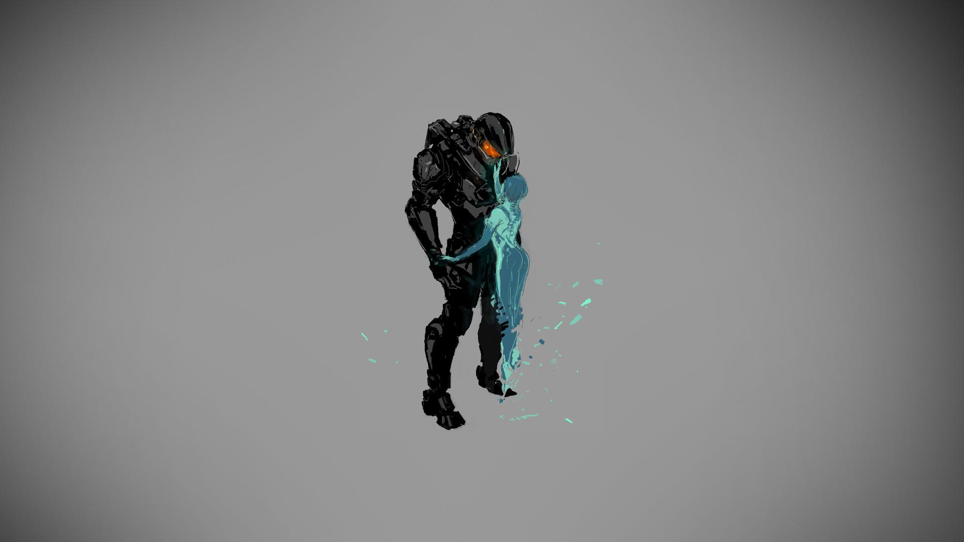 Halo Master Chief Cortana warrior sci-fi wallpaper | | 72473 .