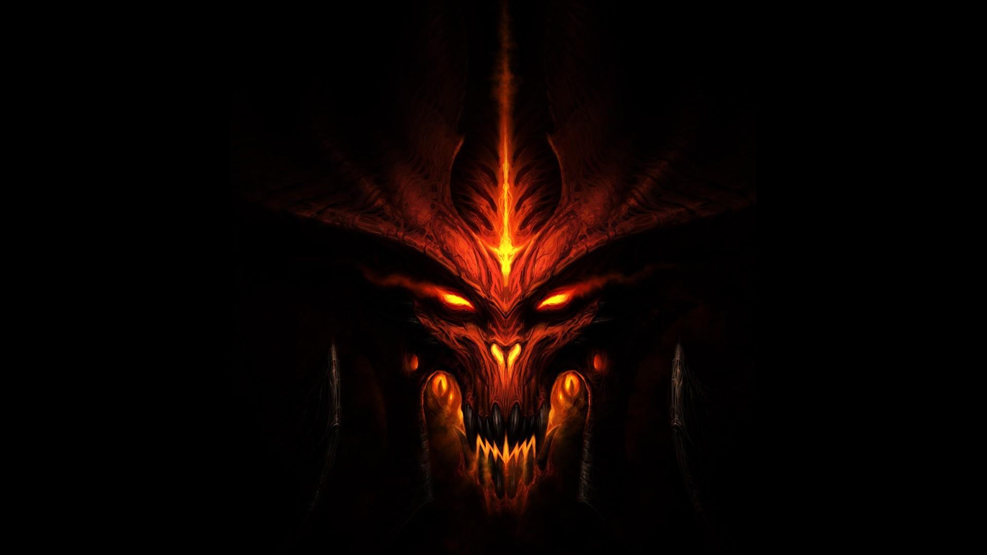 dark, Evil, Orange, Diablo, Diablo III Wallpapers HD / Desktop and Mobile  Backgrounds