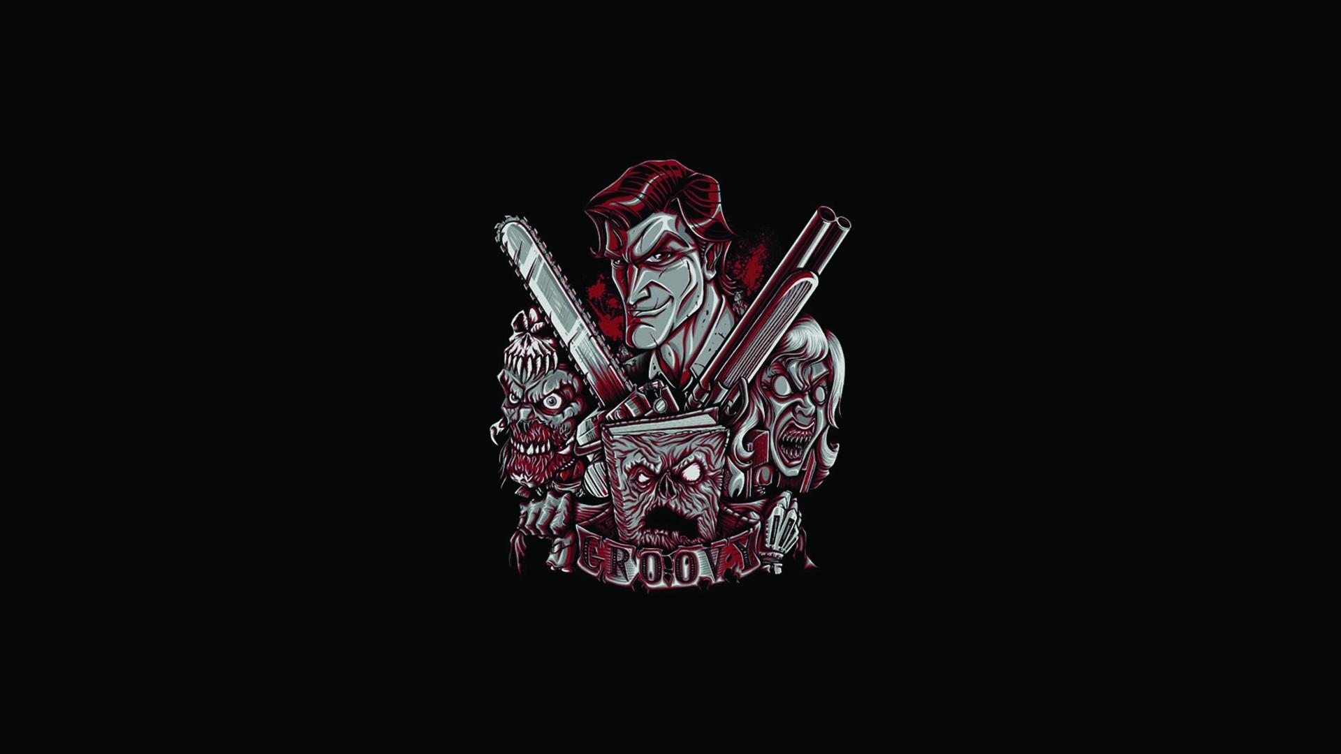 Evil Dead Black Army Of Darkness Dark Zombie Wallpaper At Dark Wallpapers