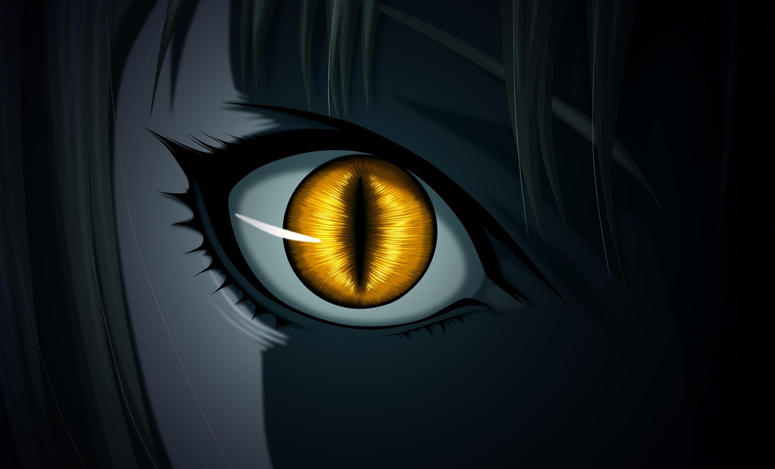 Anime – Claymore Dark Yellow Eyes Wallpaper