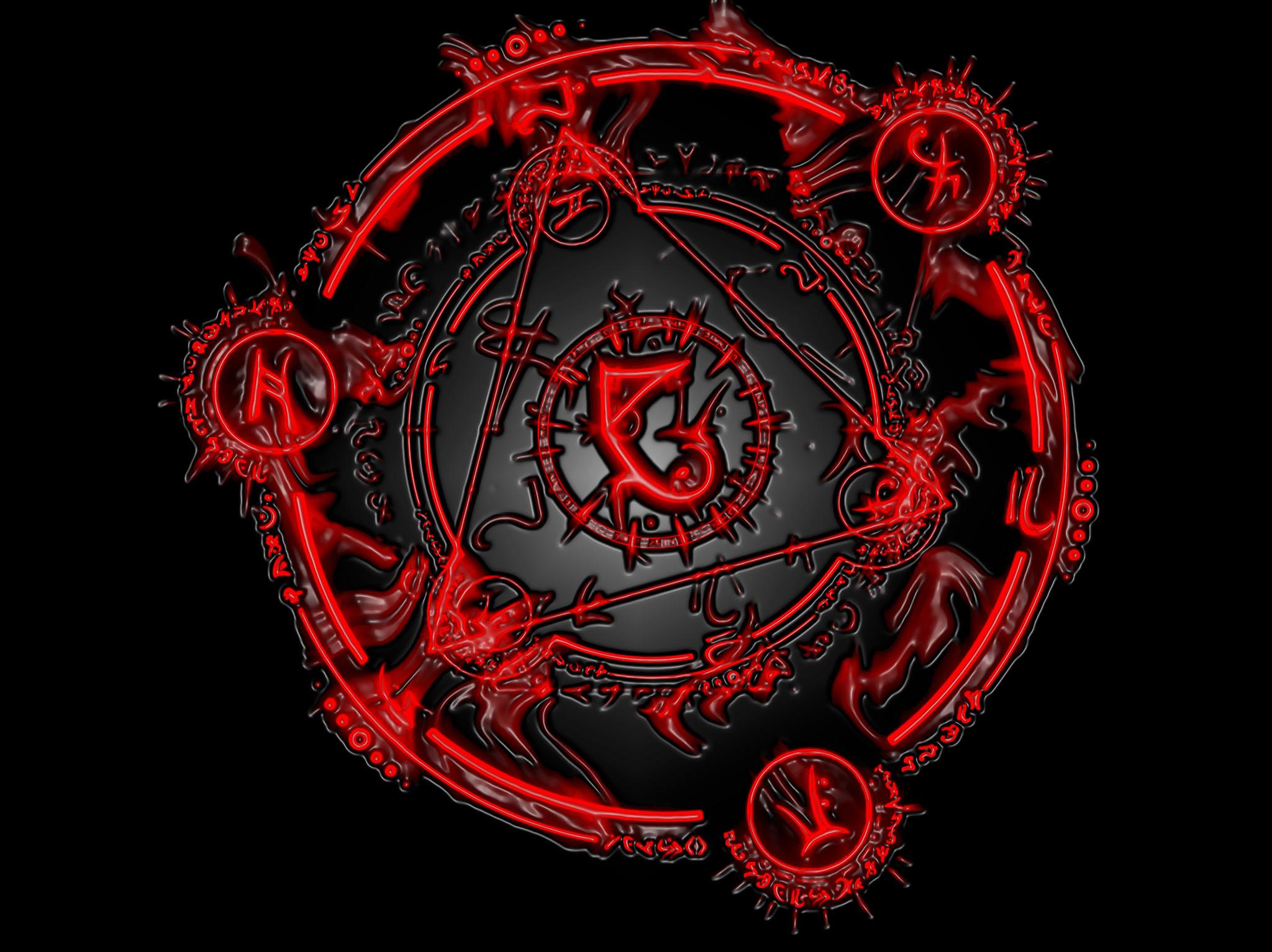 Dark horror occult evil symbol wallpaper     29067   WallpaperUP