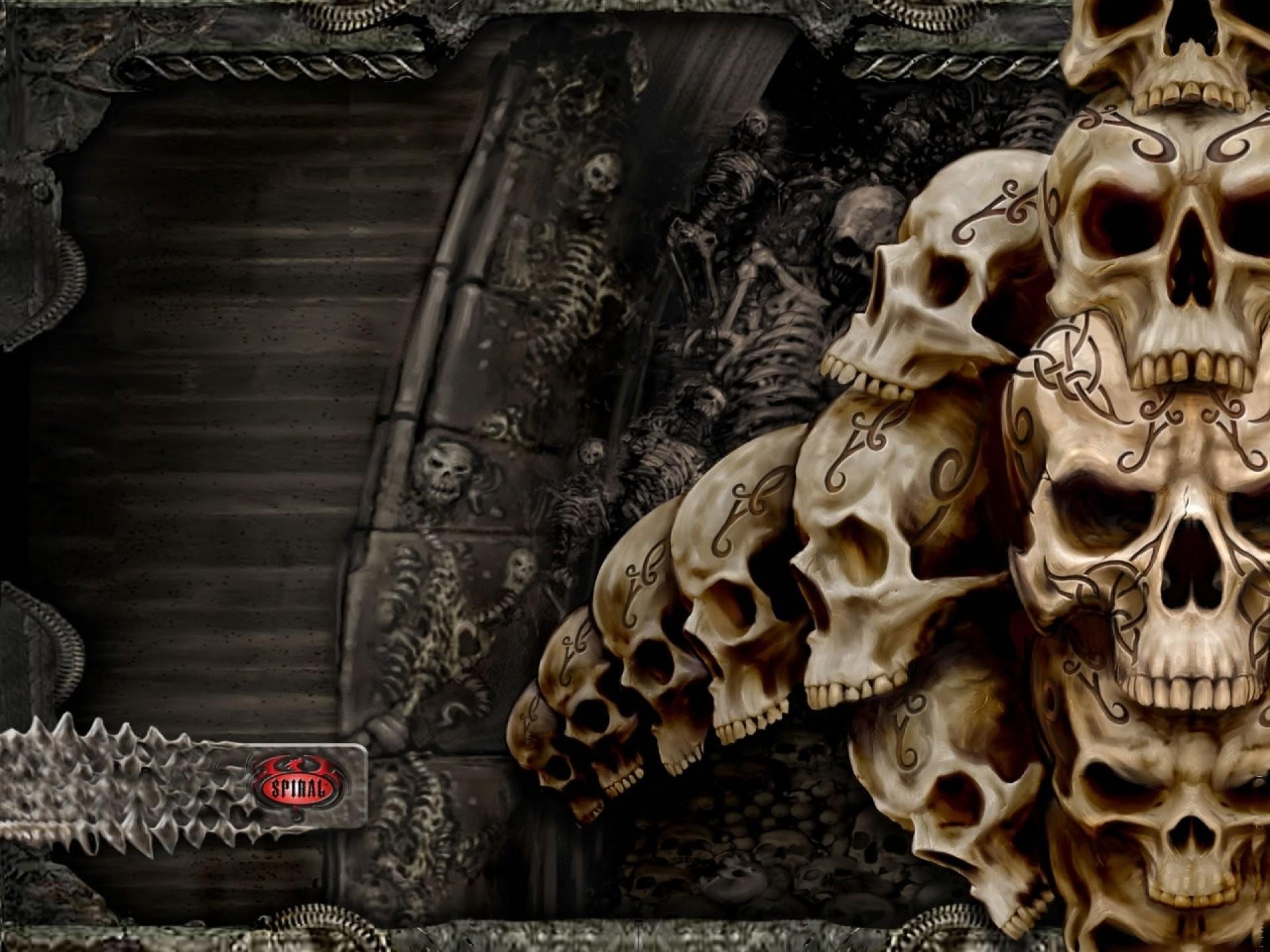 Dark Skull Evil Horror Skulls Art Artwork Skeleton D Wallpaper At Dark  Wallpapers