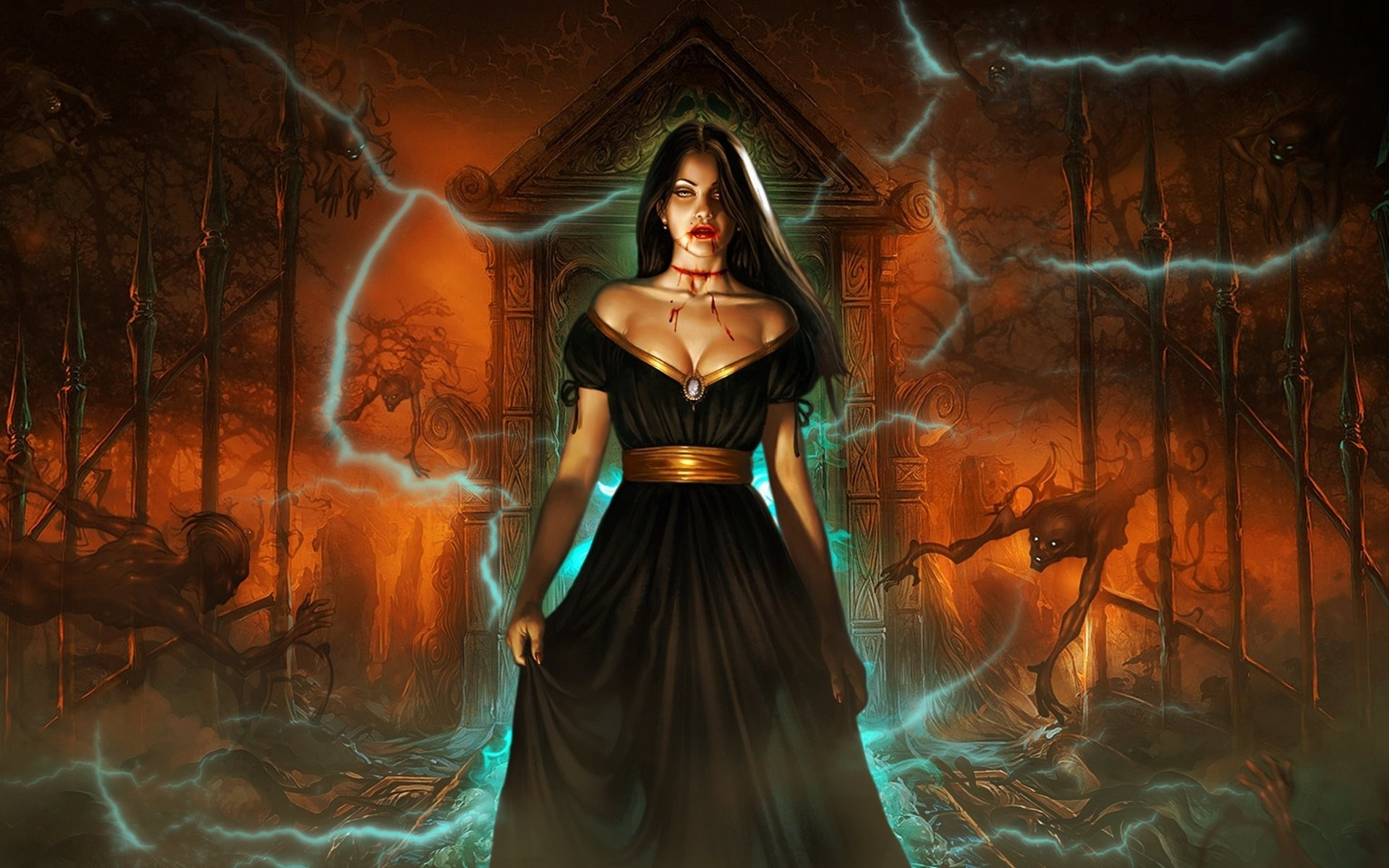 HD Wallpaper   Background ID:107013. Dark Vampire