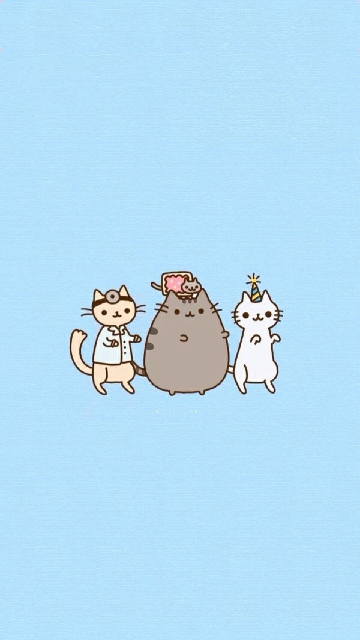 Pusheen The Cat Background   Funny Cat & Dog Pictures